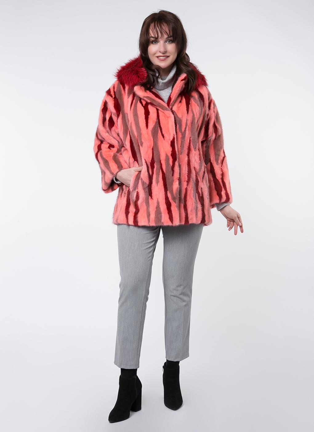 Норковая куртка Виколия 01, Mexschool