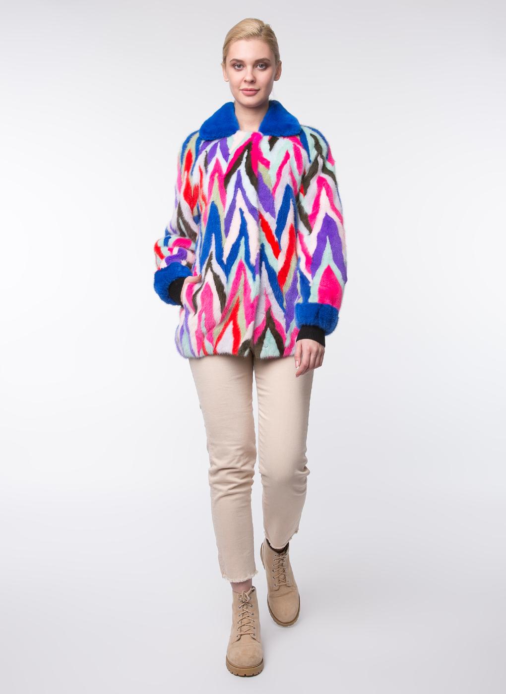 Норковая куртка Искра 01, Mexschool