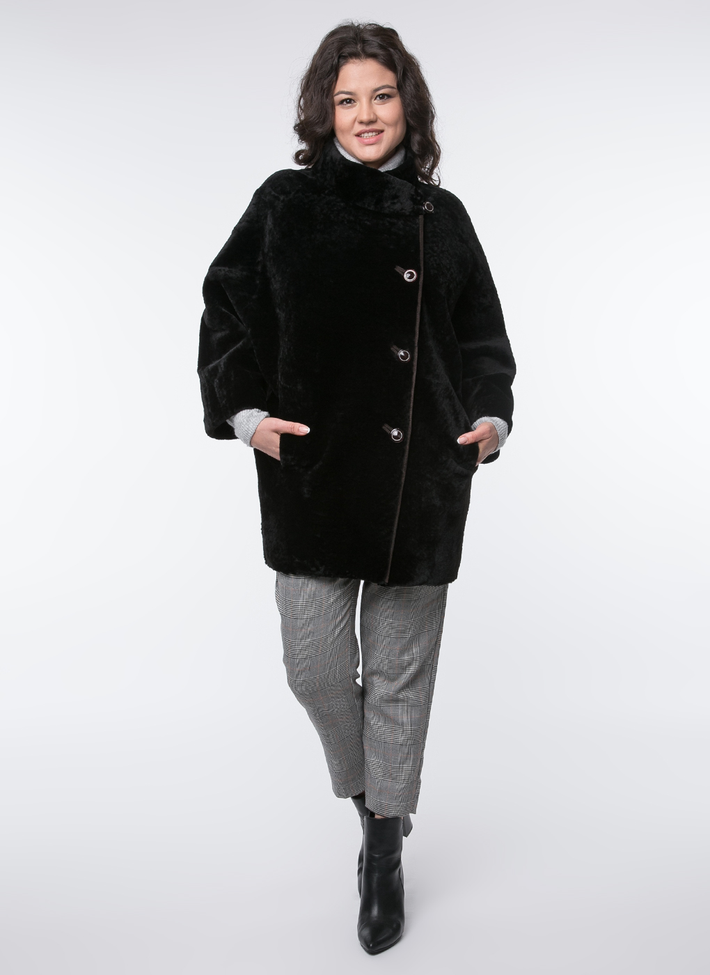 Куртка из астрагана кокон 02, Заря
