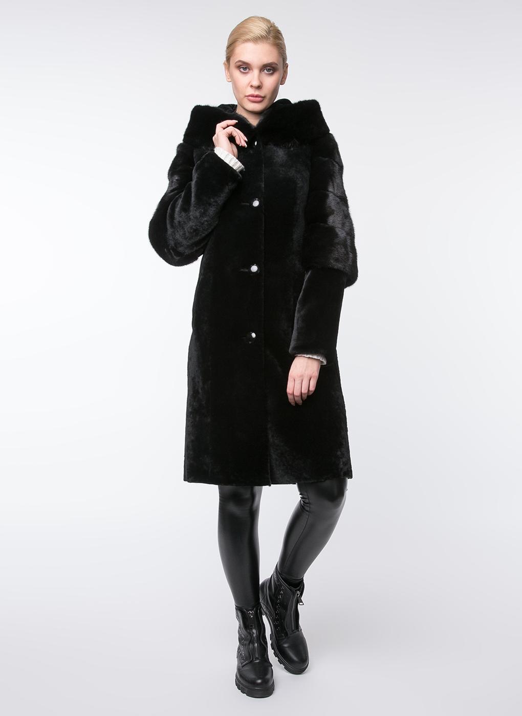 пальто из мутона с фото в бишкеке шапка
