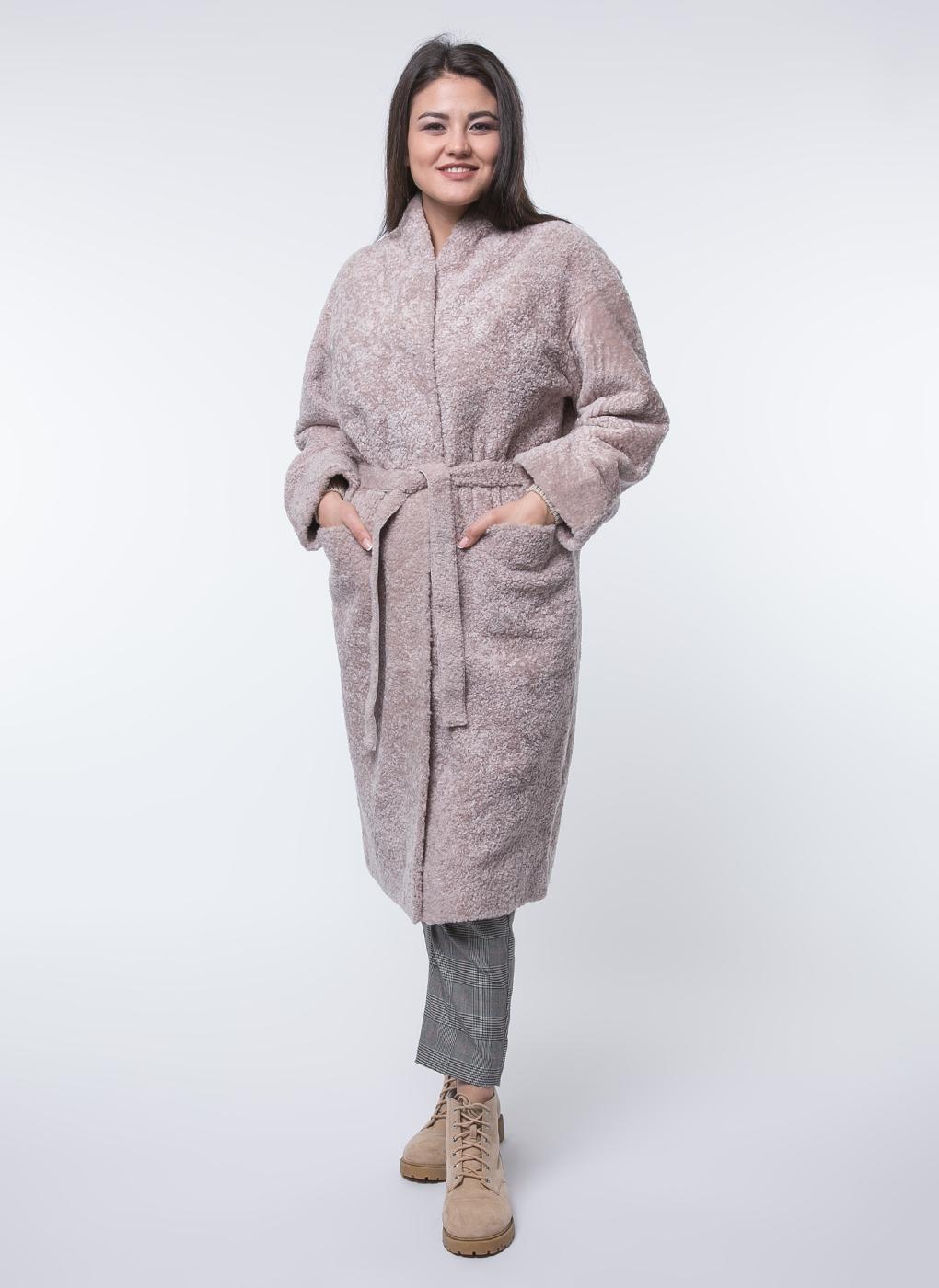 Пальто приталенное из овчины 02, Perre фото
