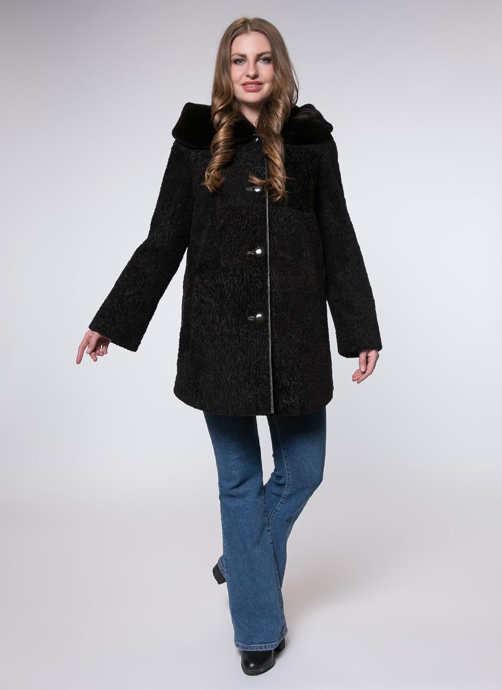 Пальто прямое из овчины 01, Alfafur фото