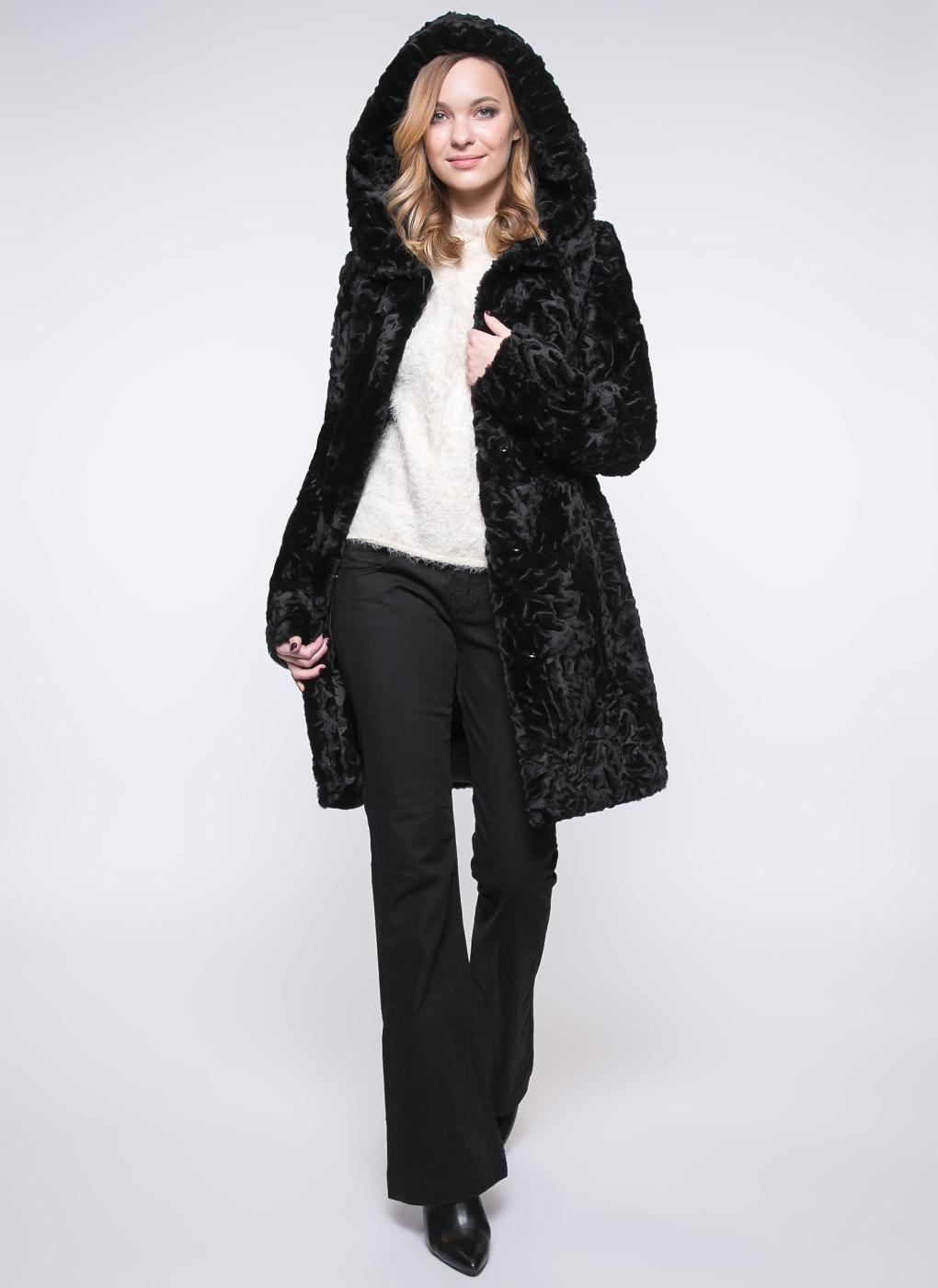Пальто приталенное из овчины 01, Janifer