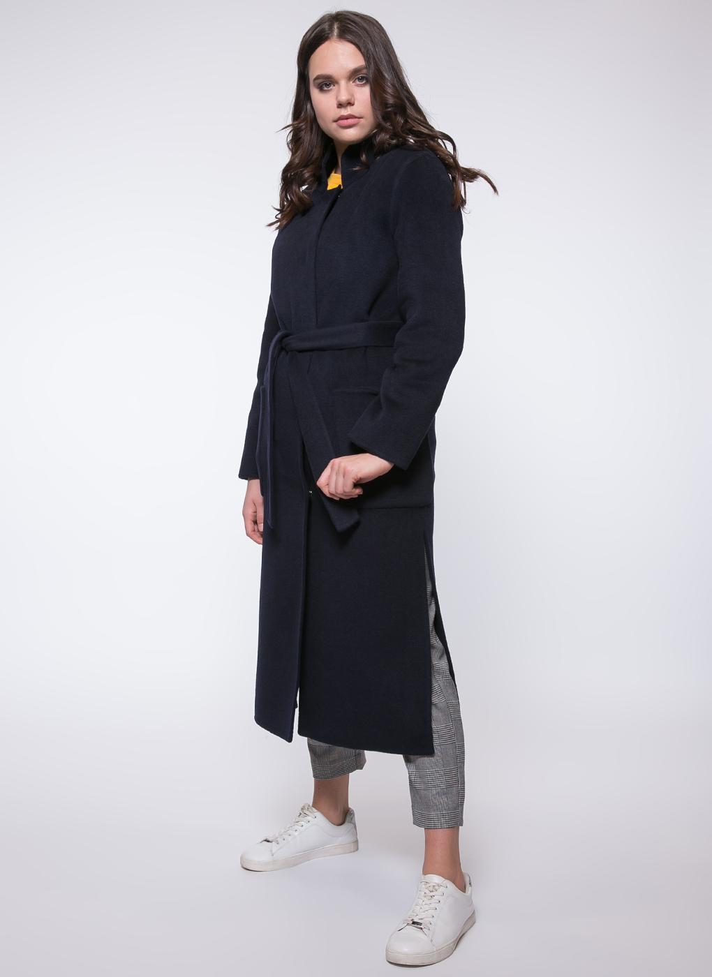 Пальто без подкладки прямое полушерстяное 84, КАЛЯЕВ фото