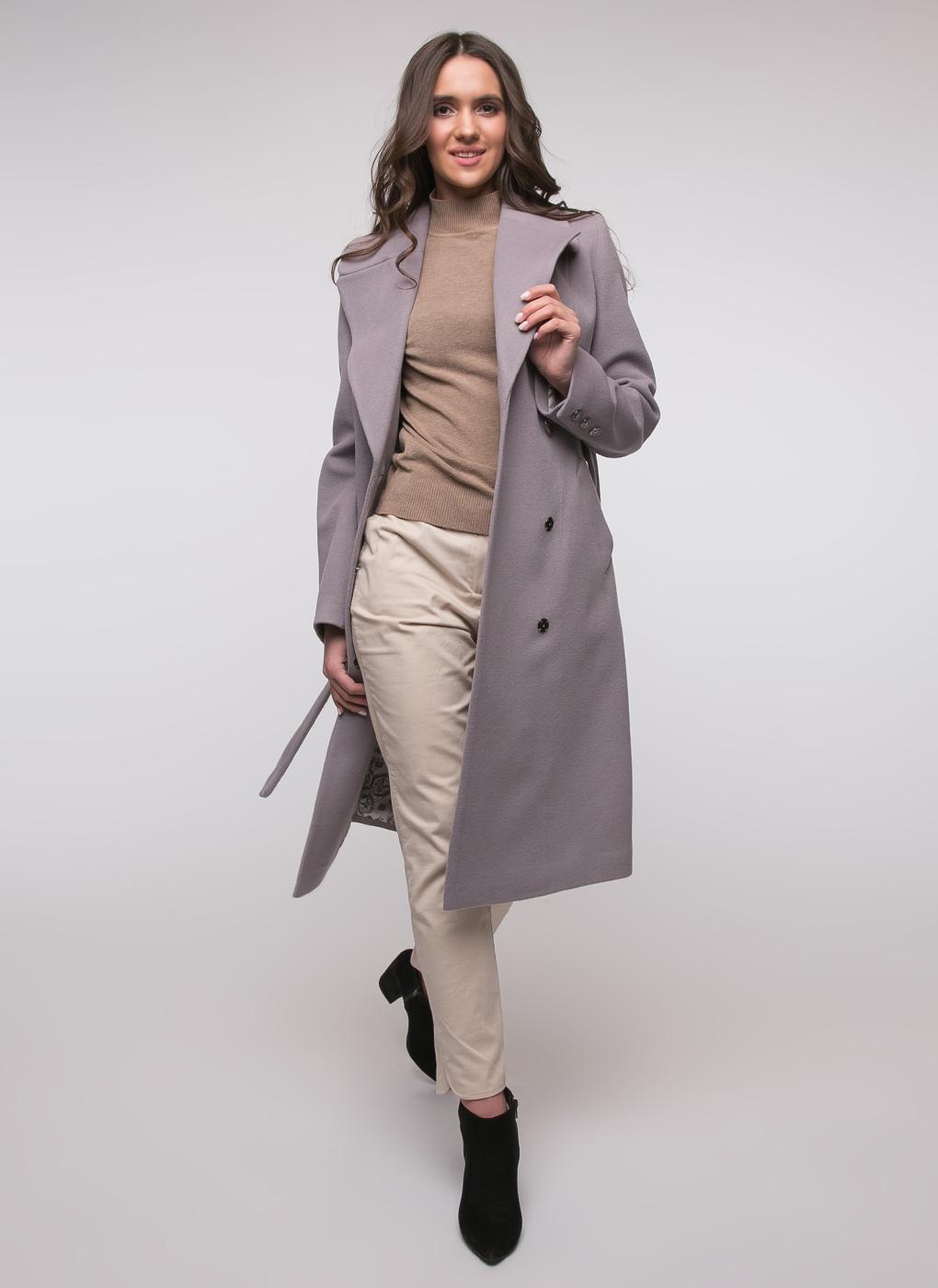 Пальто приталенное шерстяное 77, idekka фото