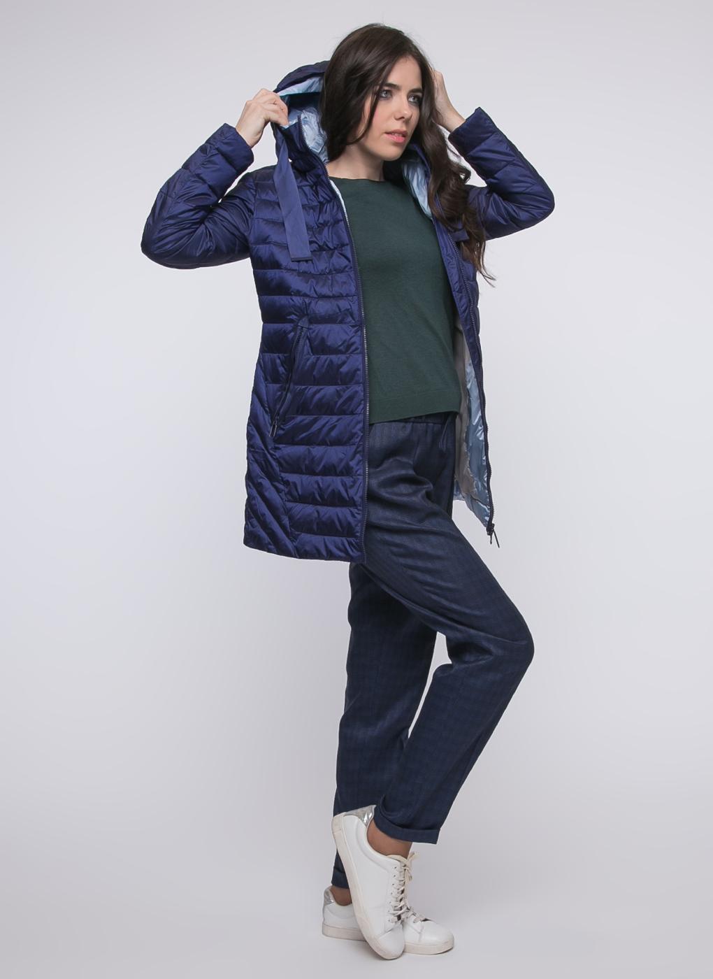 Пальто трапеция утепленное 01, Snowimage