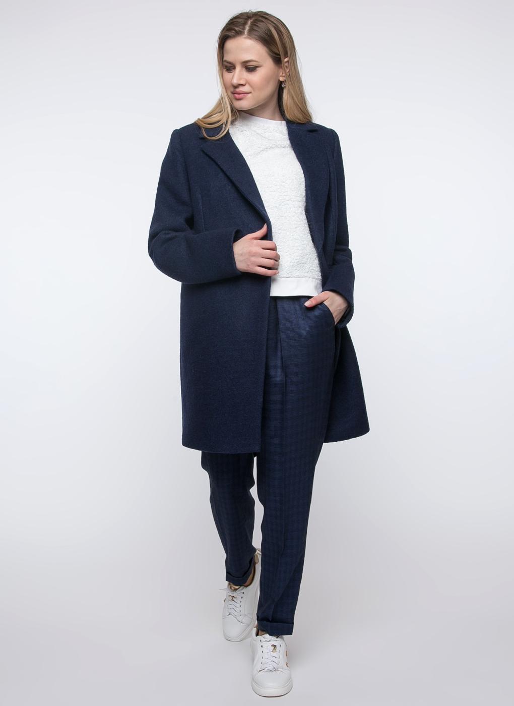 Пальто прямое полушерстяное 09, idekka фото