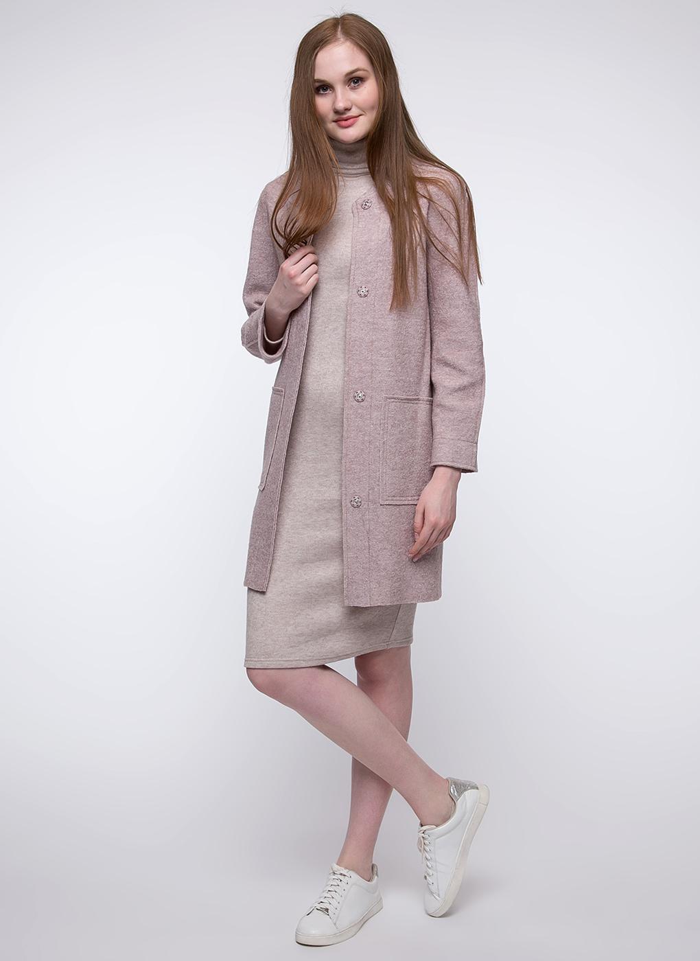 Пальто прямое шерстяное 26, Crosario фото