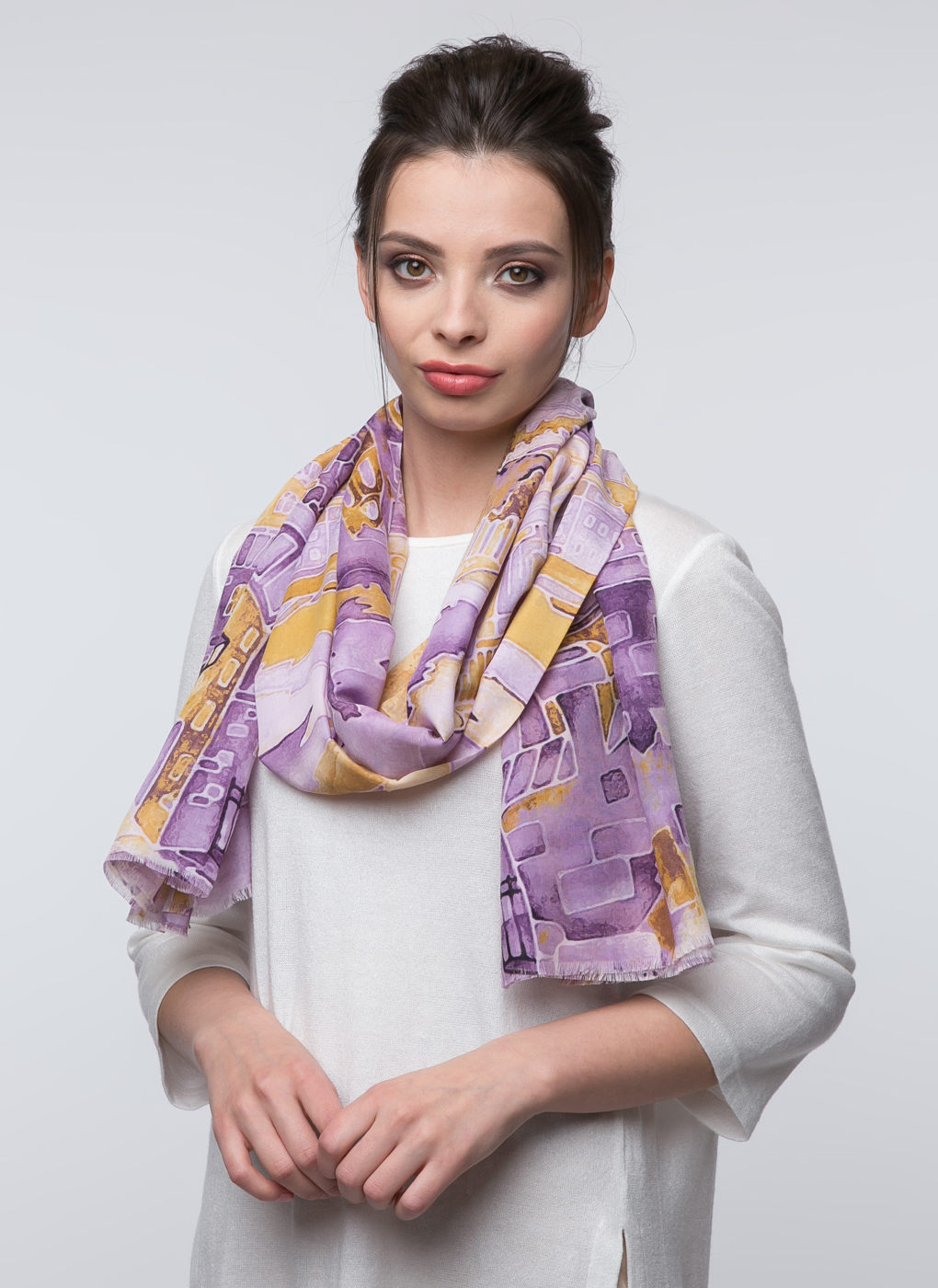 Палантин из текстиля 72, Magrom