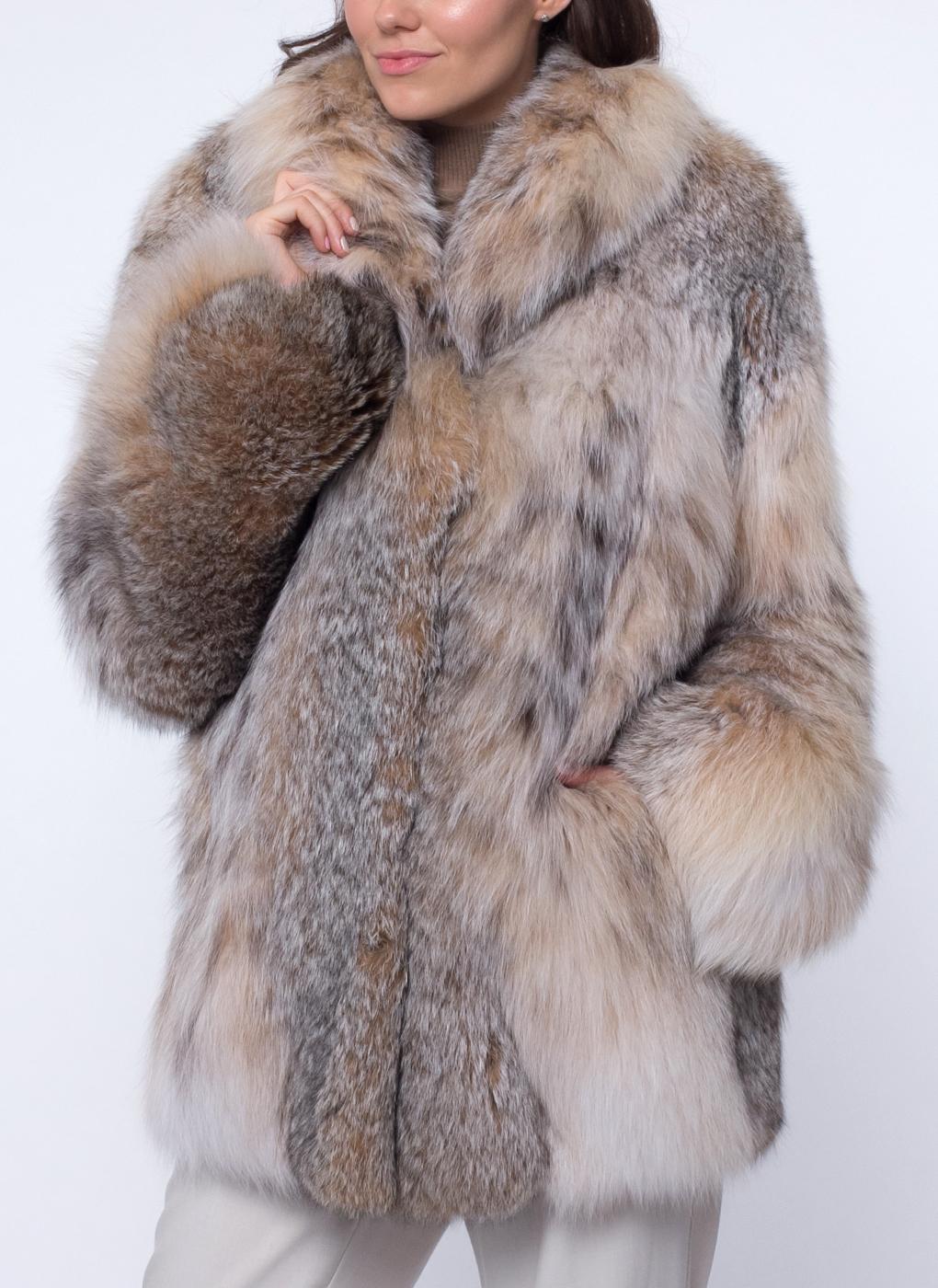 Куртка из рыси Автоледи 02, КАЛЯЕВ