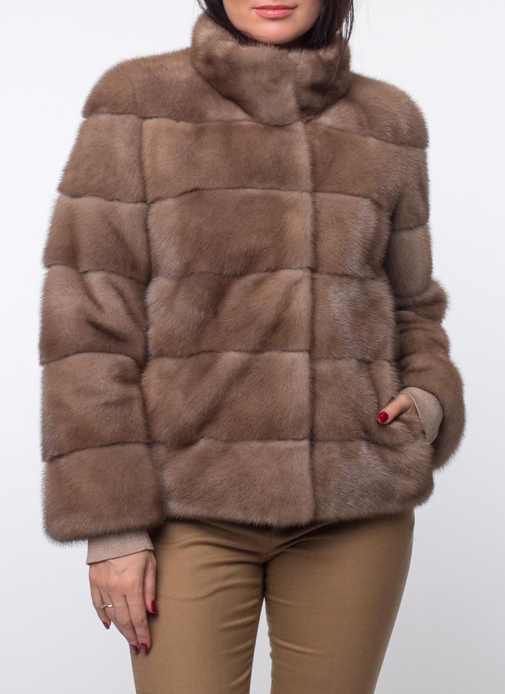 Норковая куртка Джульетта 03, КАЛЯЕВ