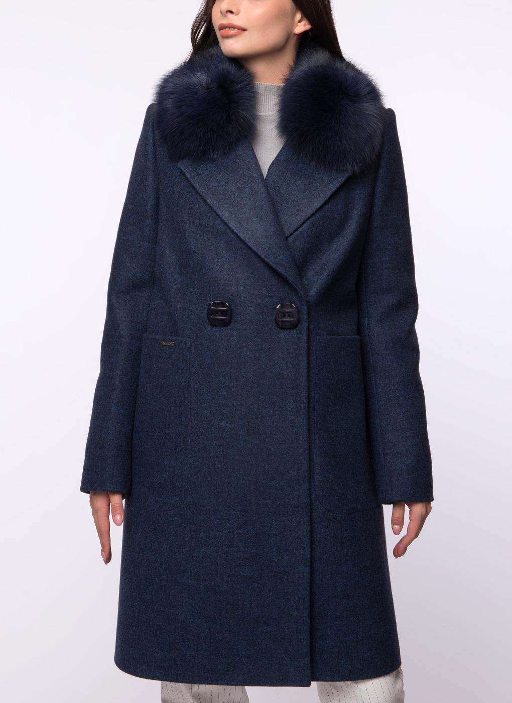 Пальто прямое полушерстяное 50, idekka фото