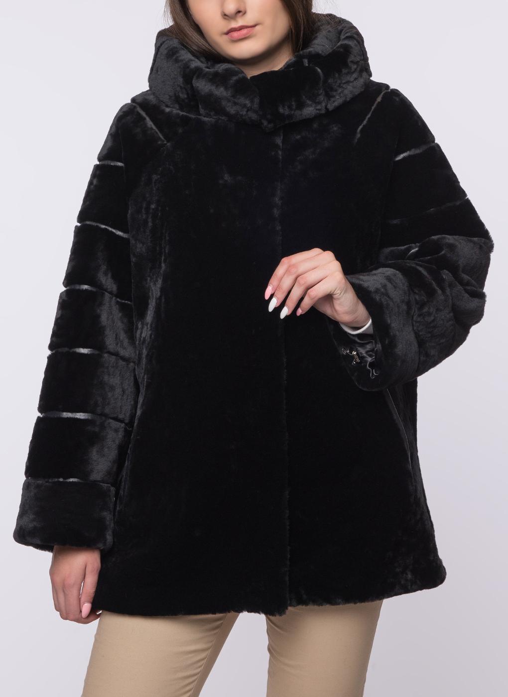 Куртка из овчины трапеция 01, Юник
