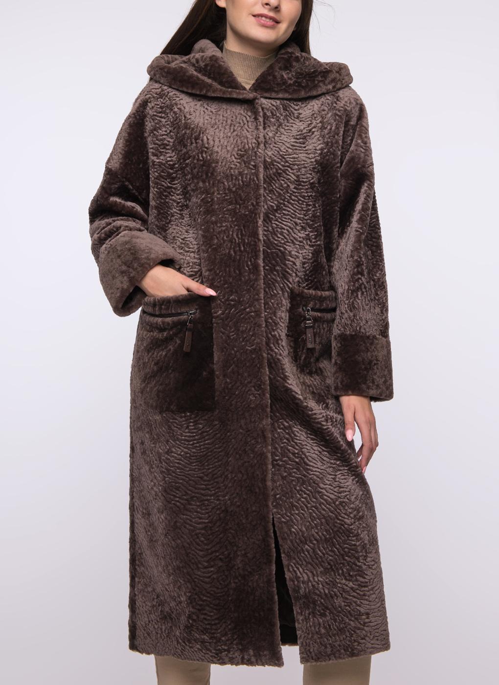Пальто прямое из овчины 45, Favorit