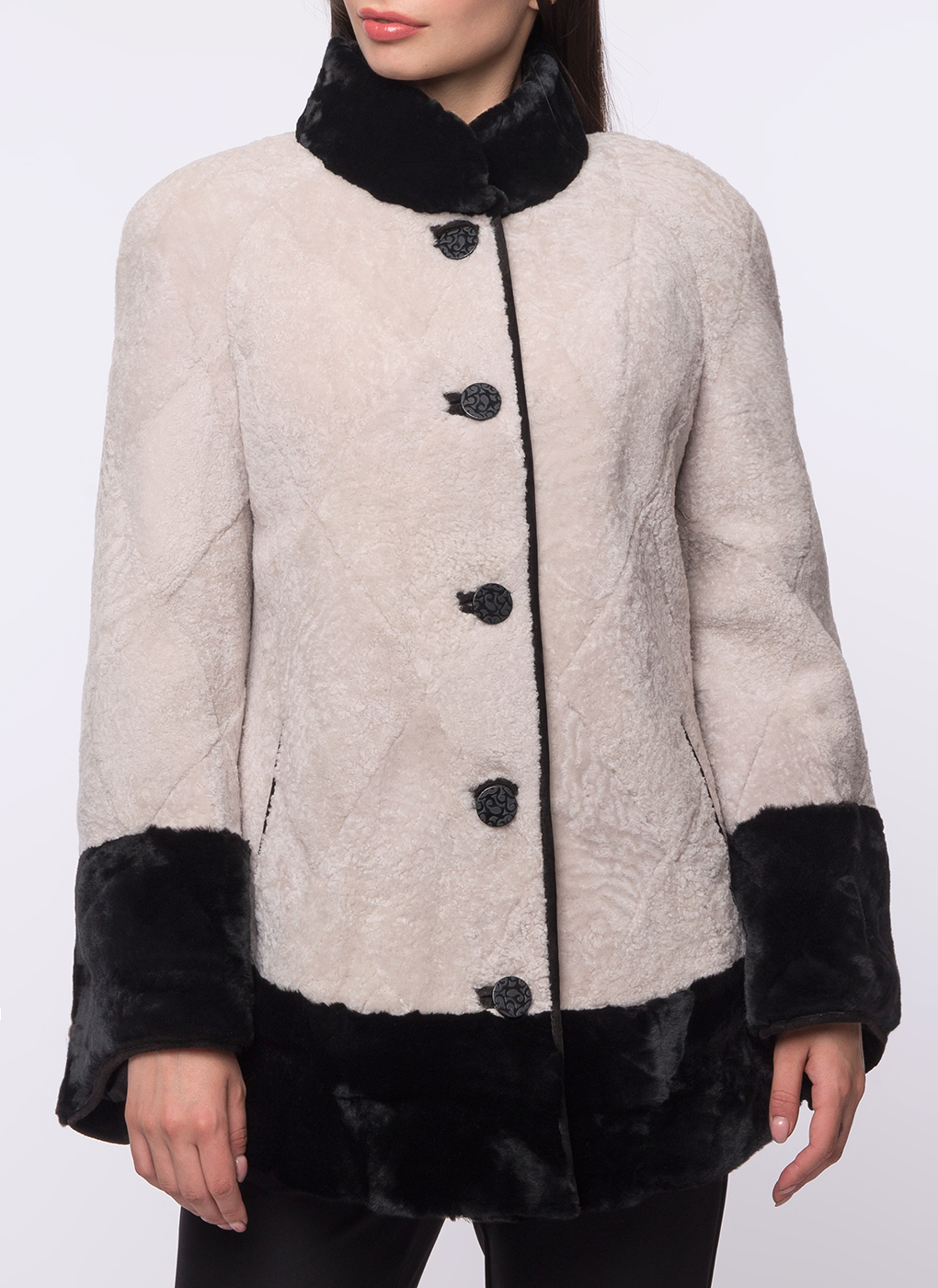 Куртка трапеция из мутона 01, Panofics фото