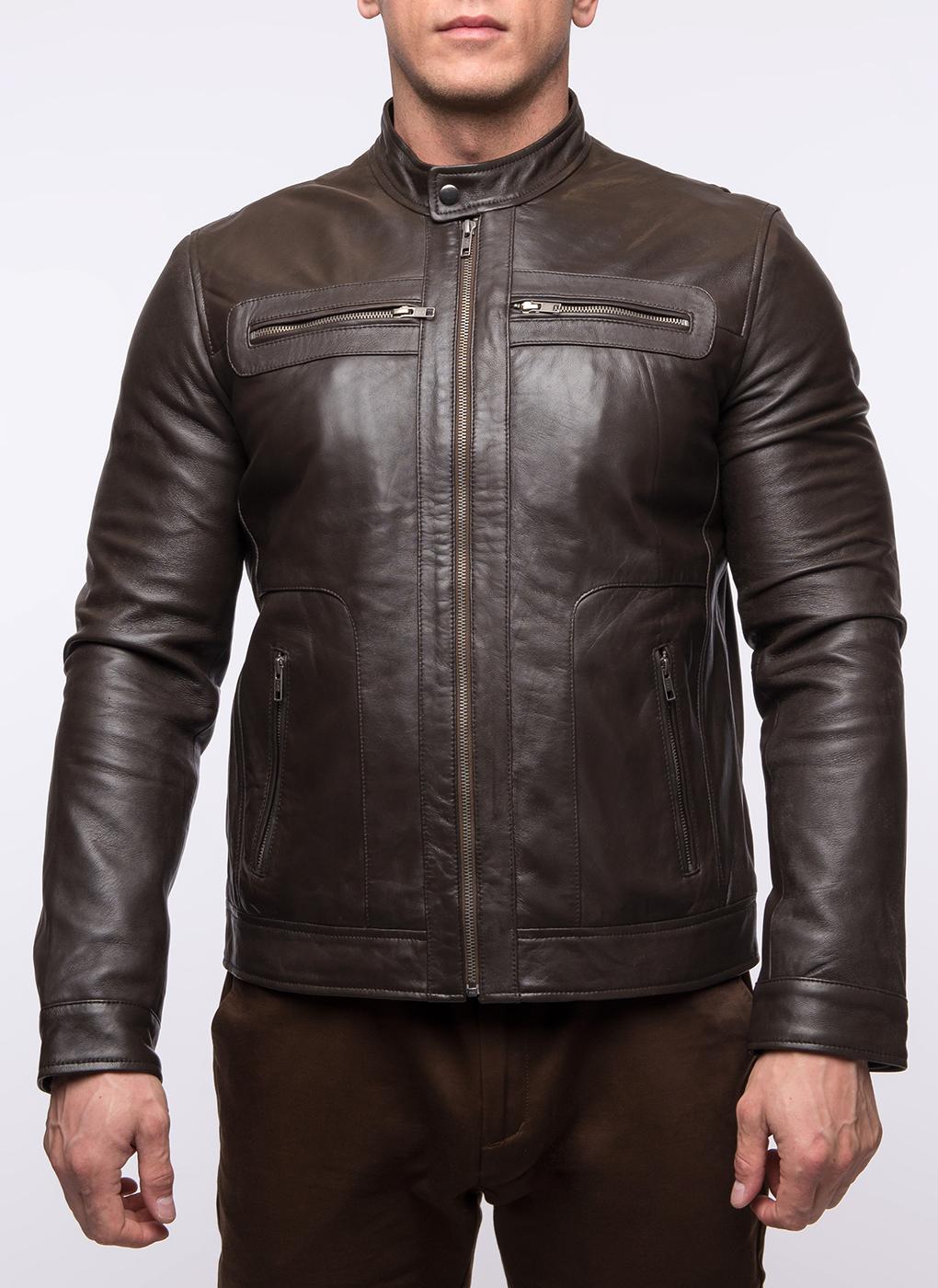 Кожаная куртка мужская 07, Gotthold фото