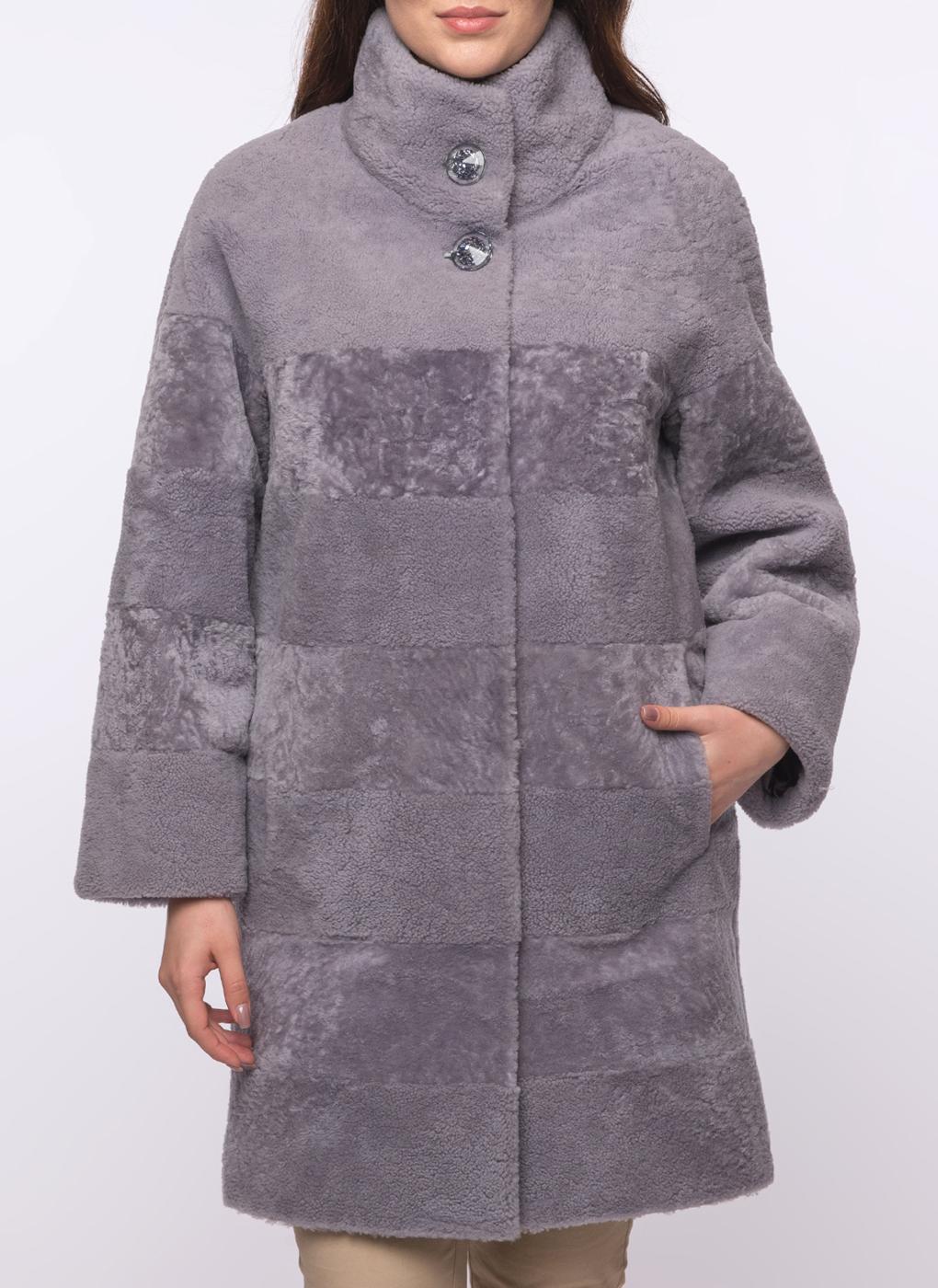 Пальто прямое из овчины 30, Favorit