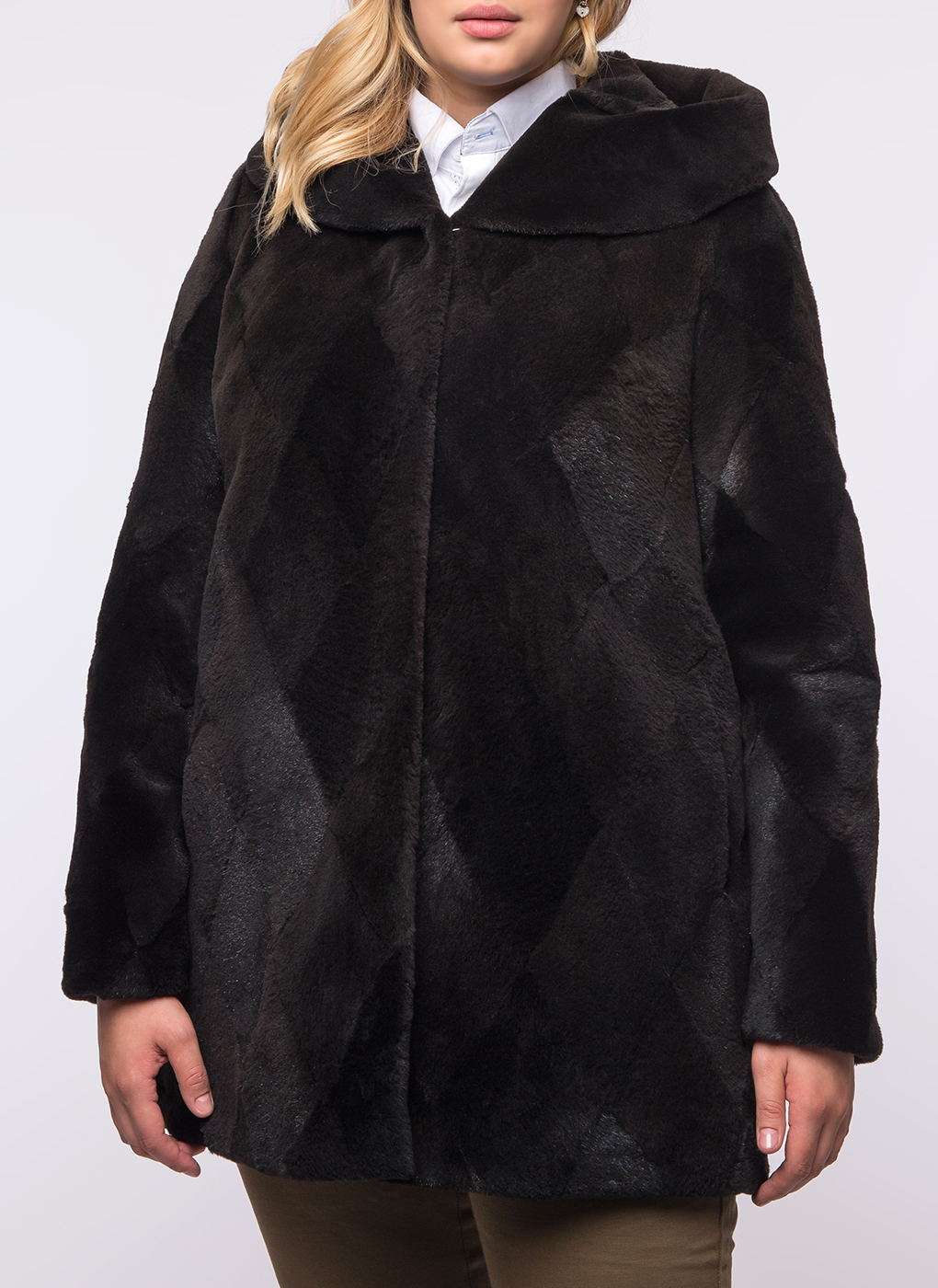 Куртка из нутрии Автоледи 02, Karolina babayan фото