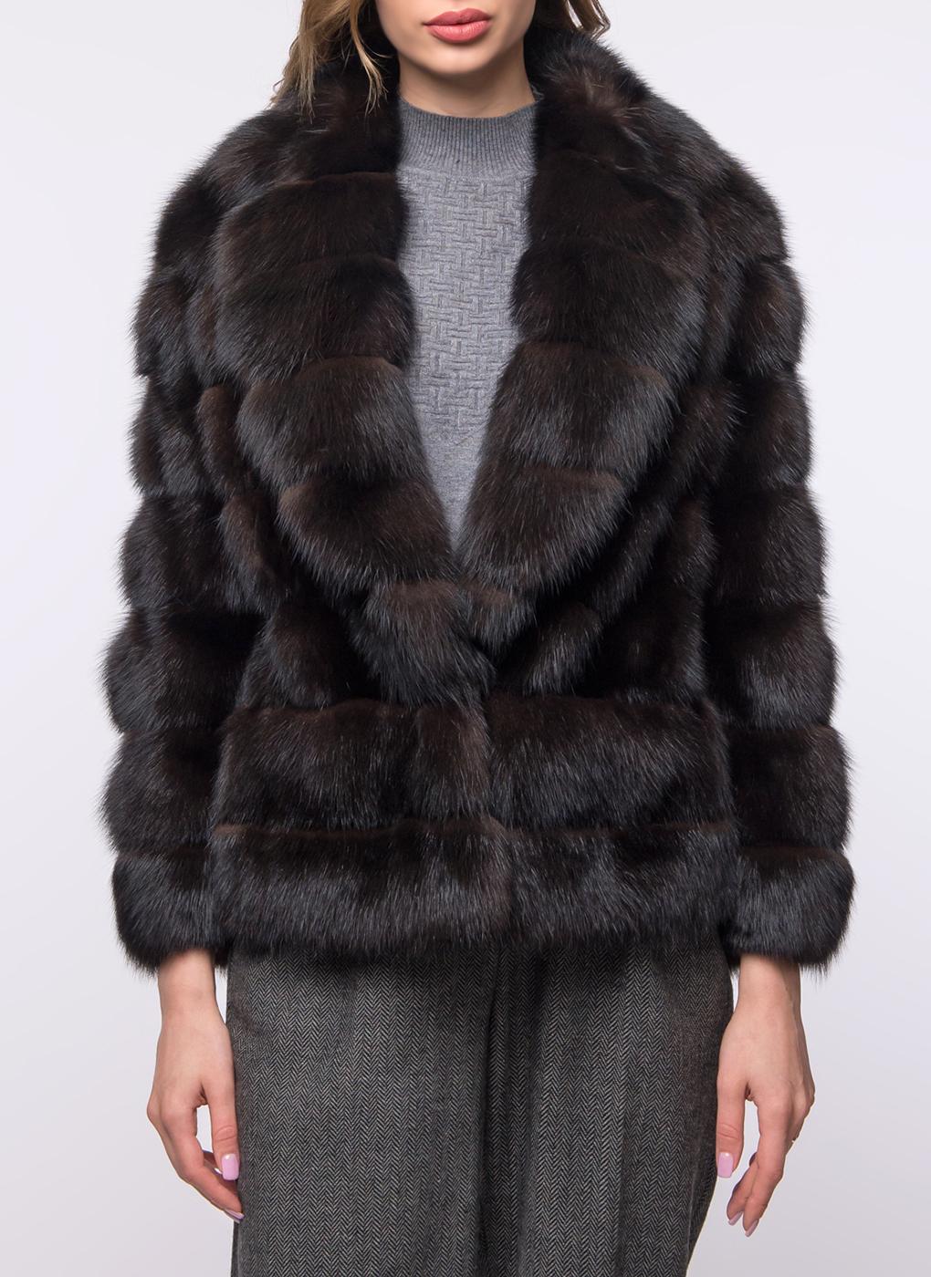 Куртка из куницы Бьорк 01, Олимп