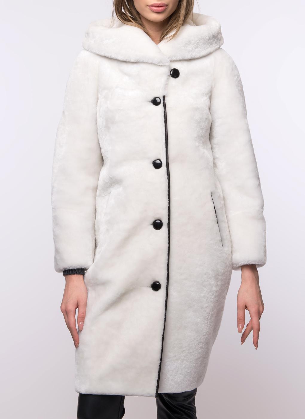 Пальто кокон из овчины 11, Aliance fur