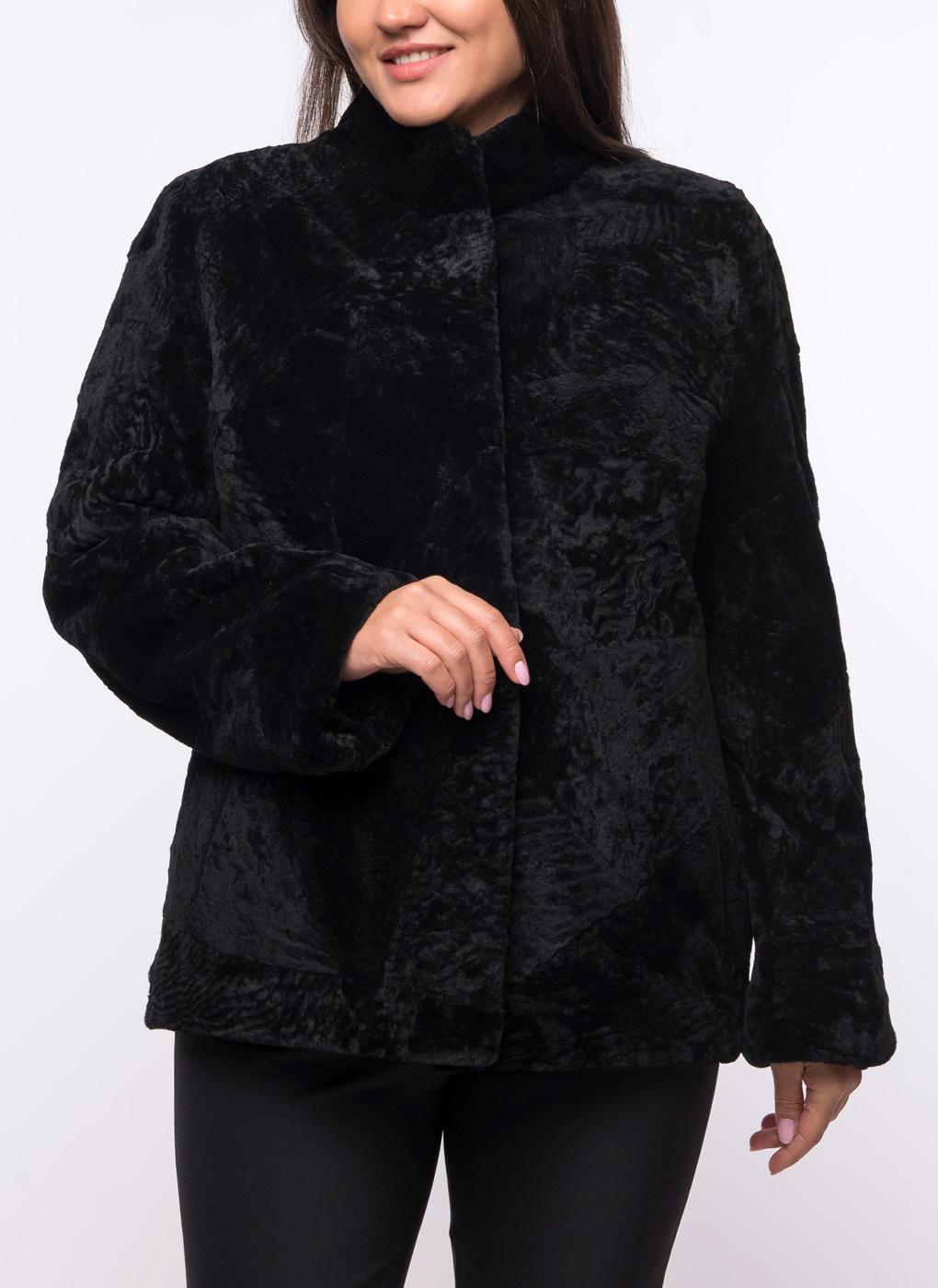 Куртка приталенная из астрагана 01, Dzhanbekoff
