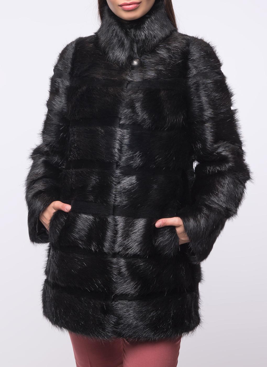 Куртка из нутрии Джульетта 1 02, Олимп фото