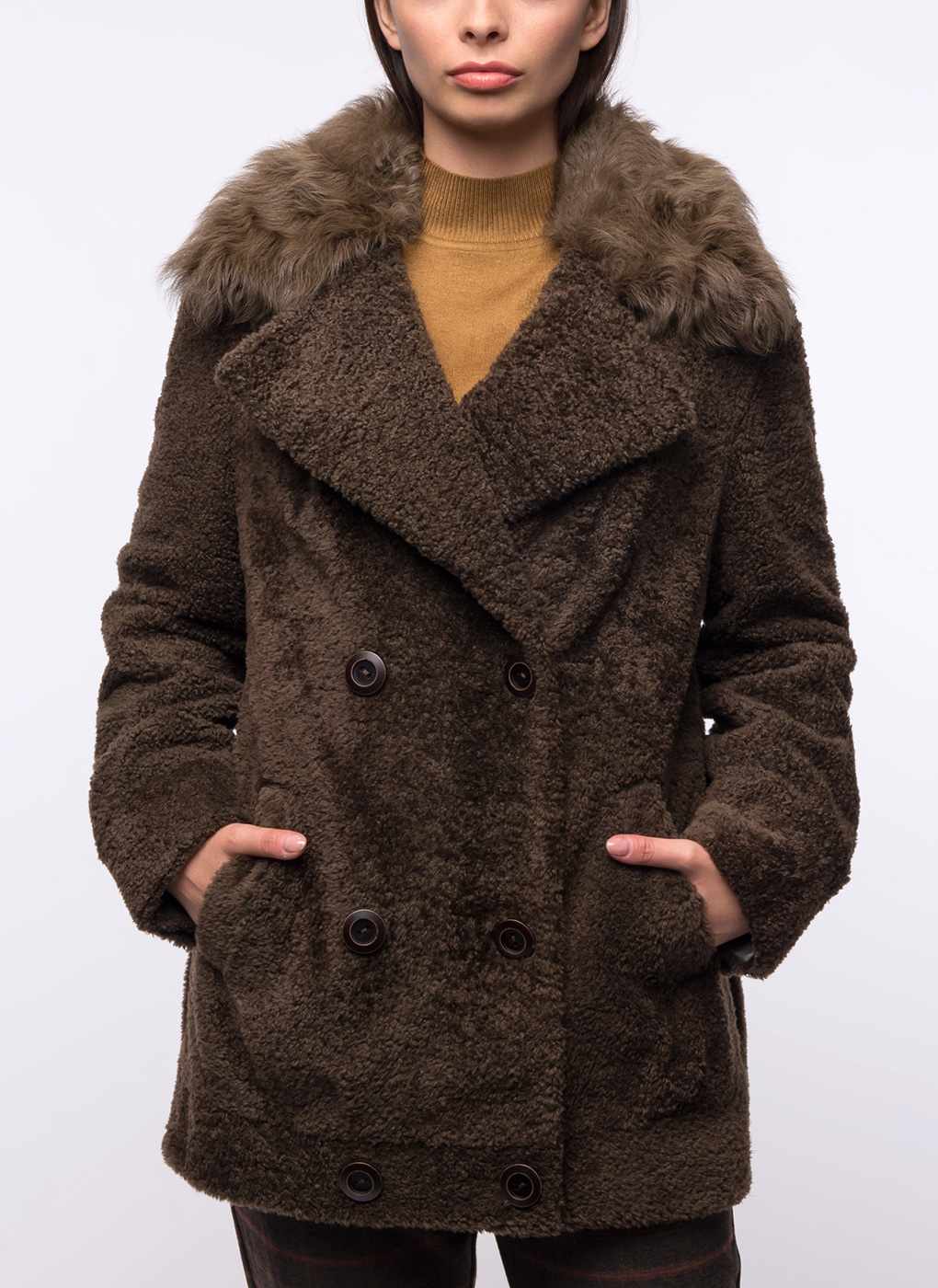 Куртка из овчины прямая 08, Aliance fur