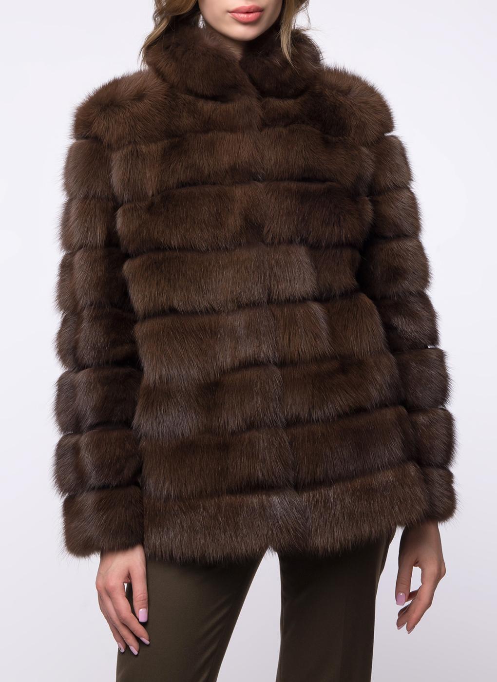Куртка из куницы Джульетта 1 01, Олимп фото