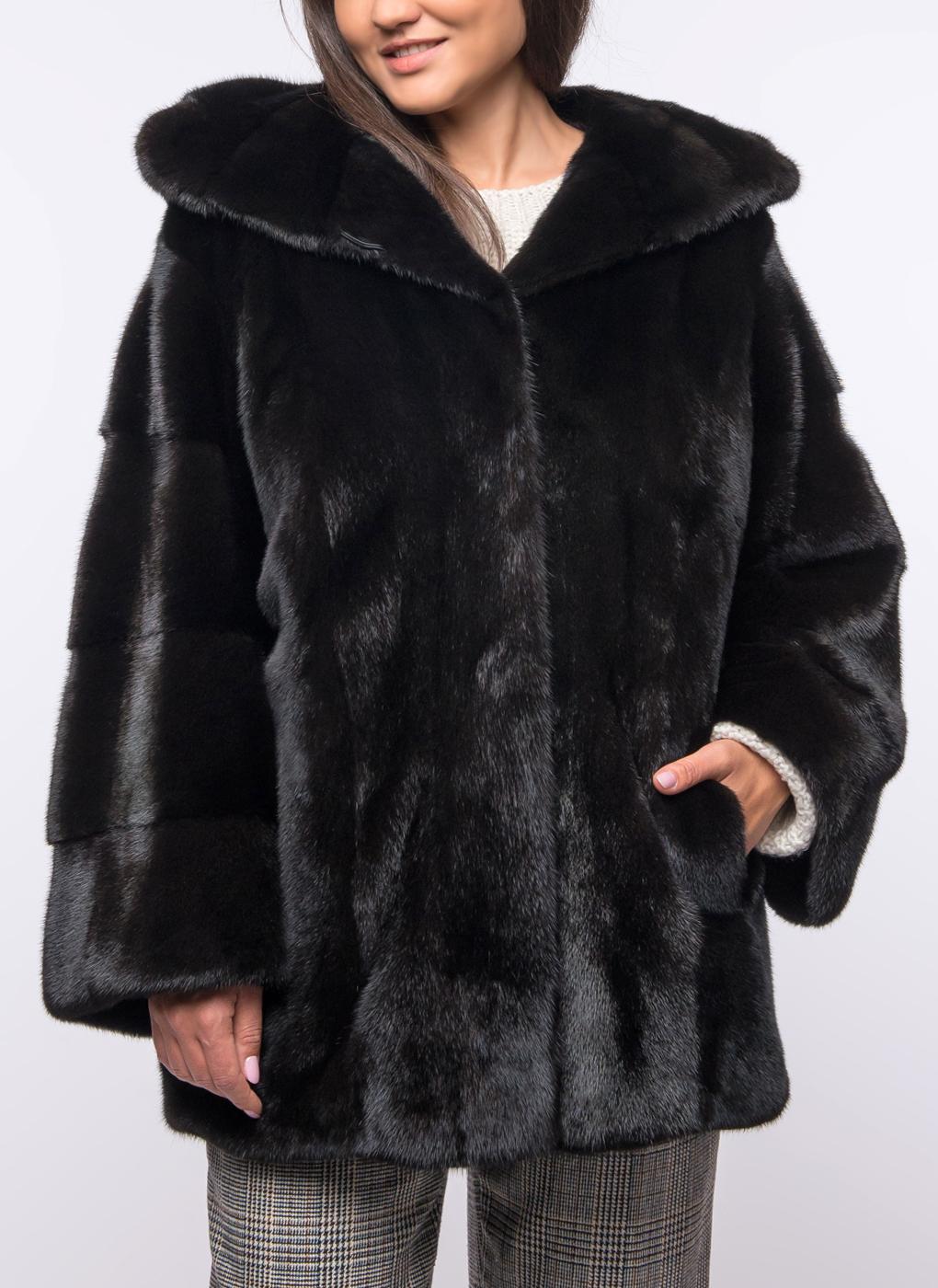 Норковая куртка Ленора 02, Beksfur