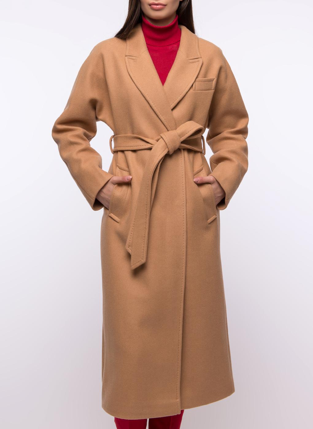 Пальто прямое полушерстяное 30, Заря Моды фото