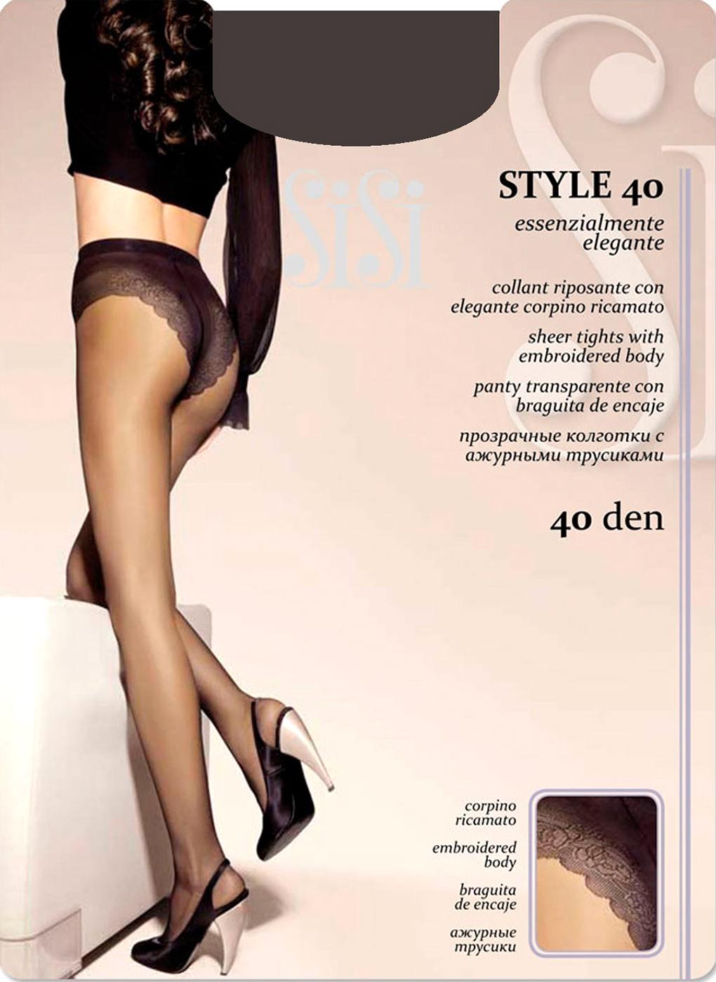 Колготки женские 40 Den02, Sisi фото