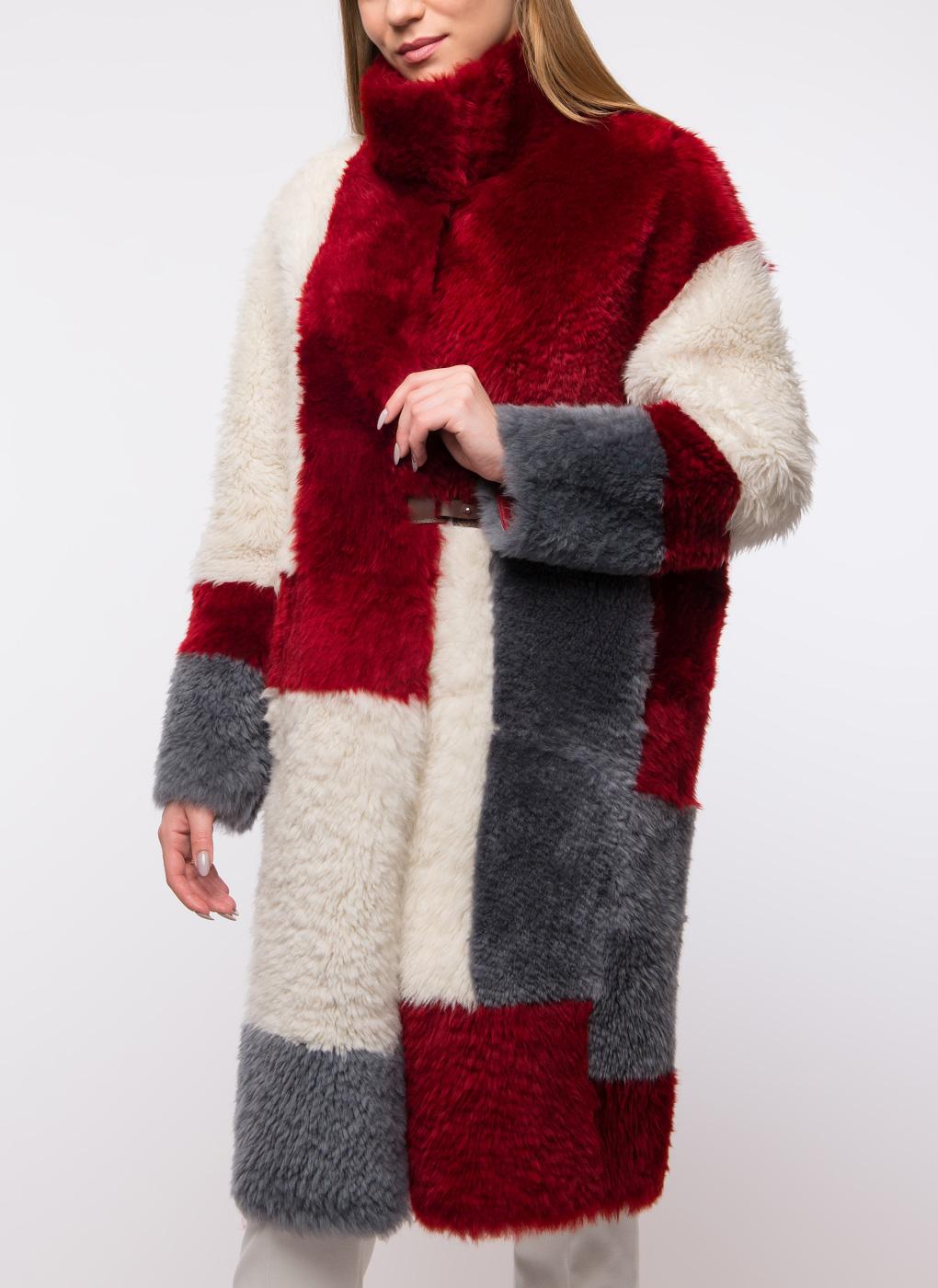 Пальто прямое из овчины 04, Perre фото