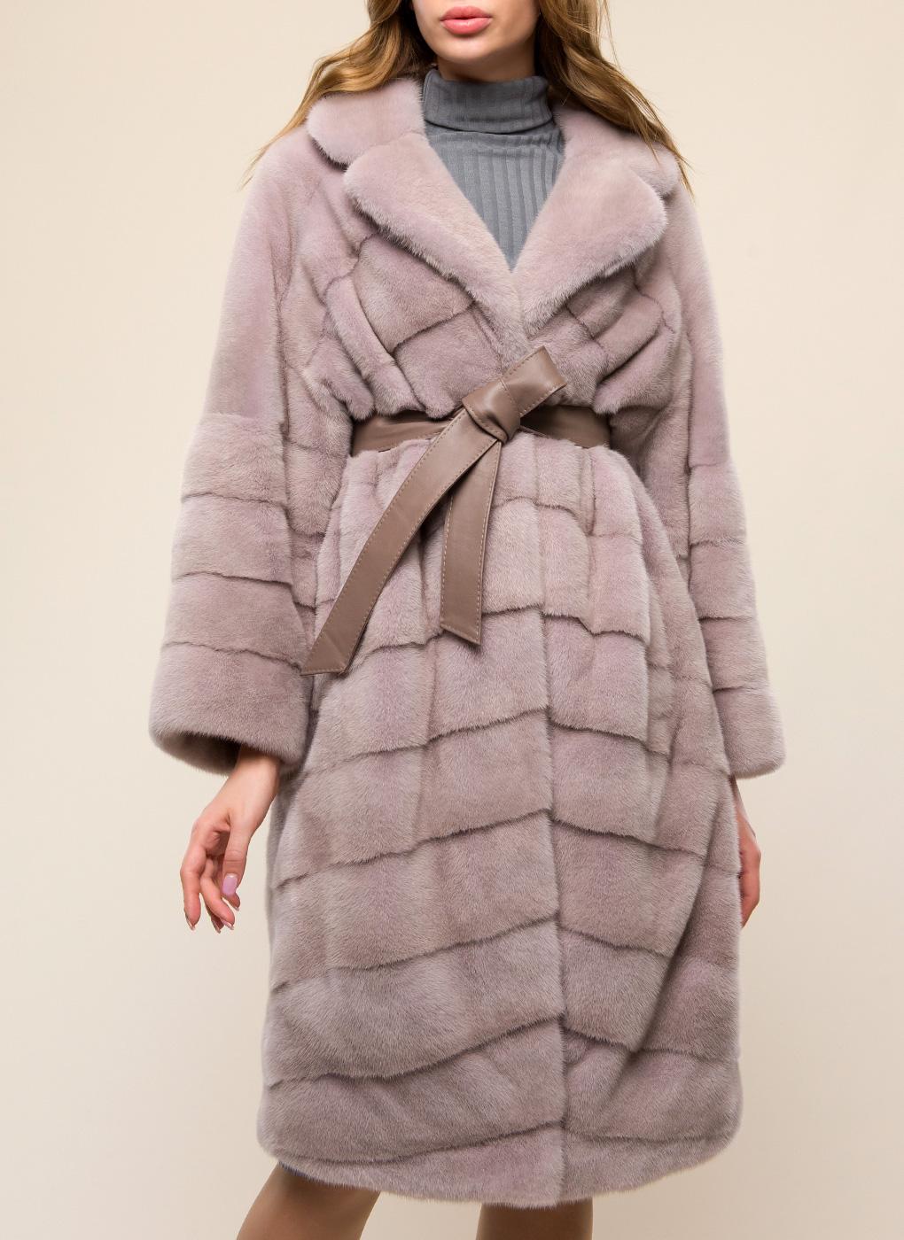 Норковая шуба Гелена 01, Soulis furs фото