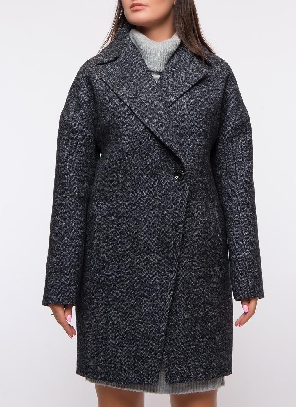 Пальто прямое полушерстяное 32, Paradox фото