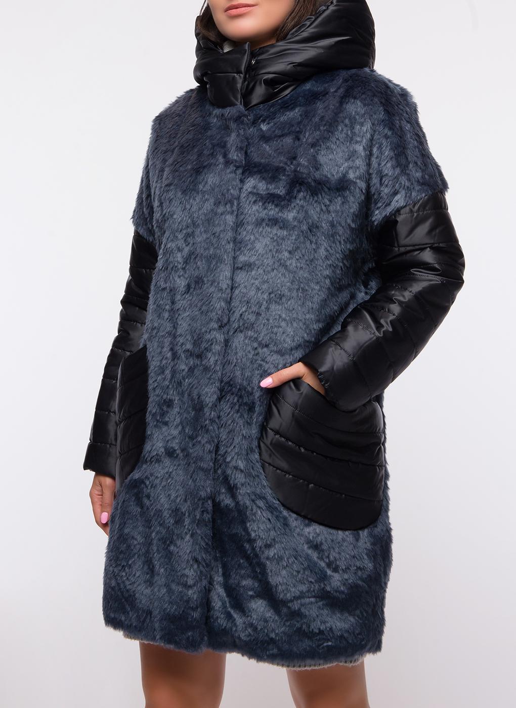 Пальто прямое фактурное 52, ElectraStyle фото
