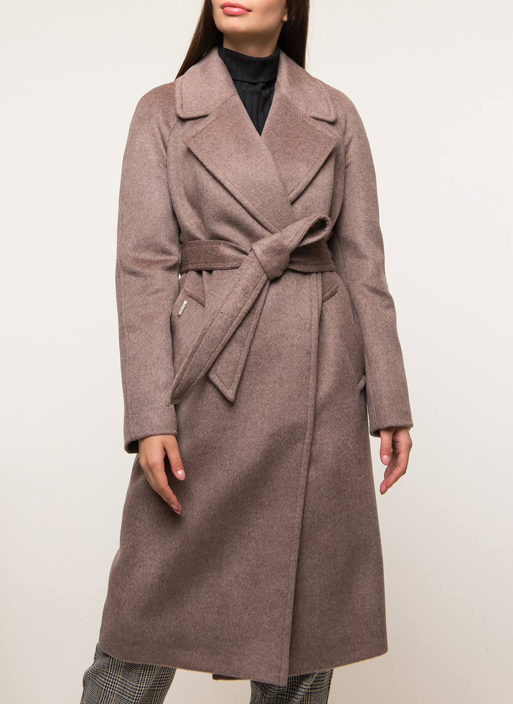 Пальто прямое шерстяное 69, idekka фото