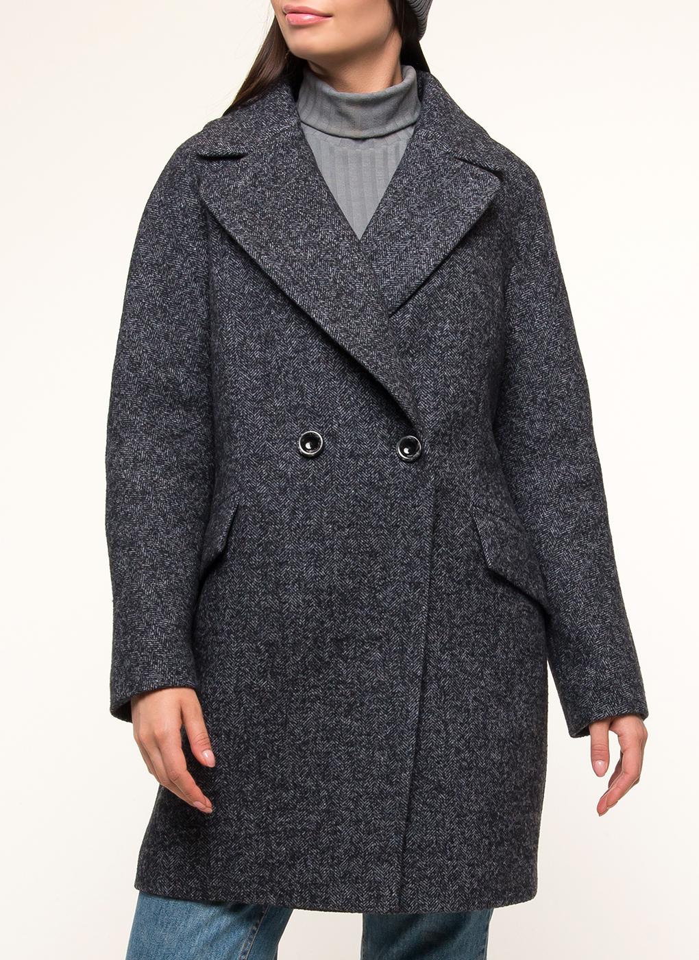 Пальто прямое полушерстяное 31, Paradox фото