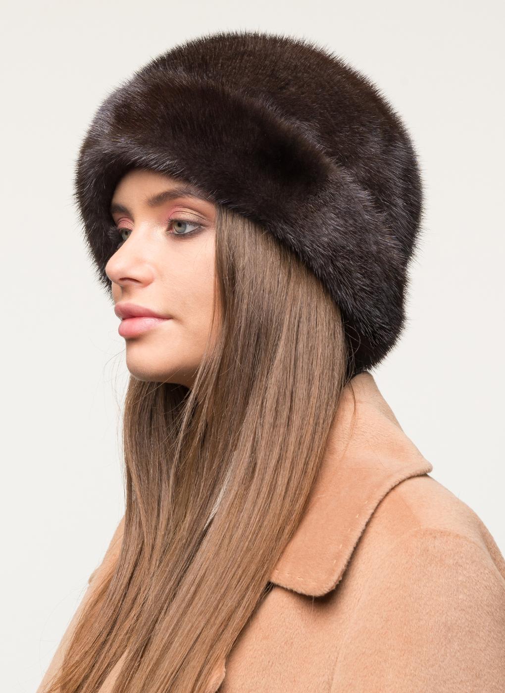 Шляпа из норки 26 с утеплителем, КАЛЯЕВ фото