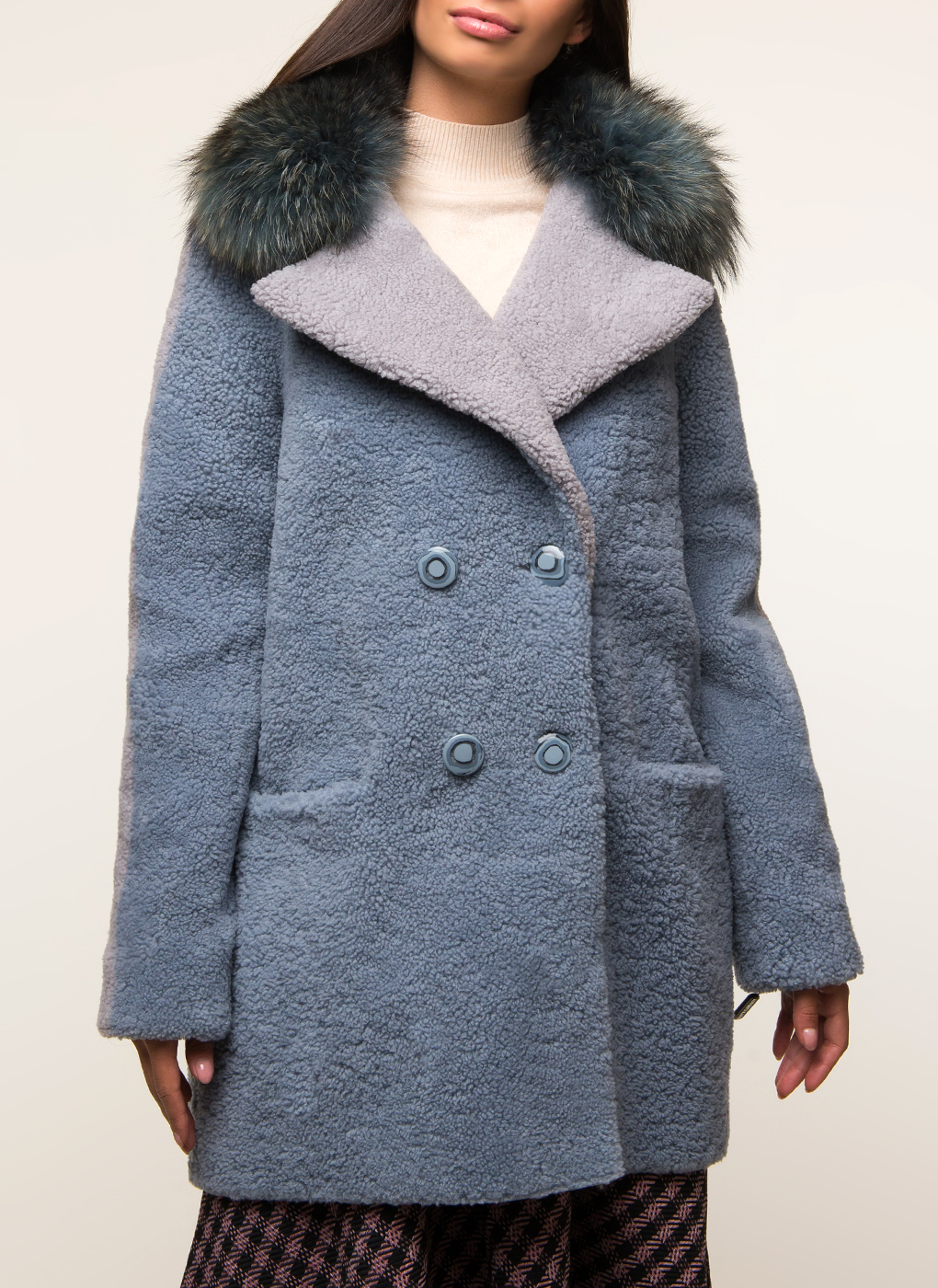 Куртка из овчины 01, Roberto rafio фото