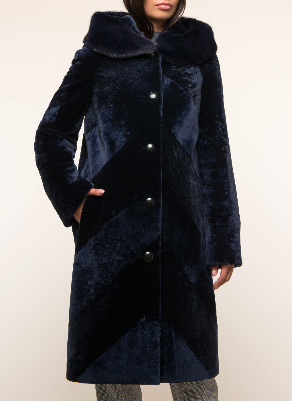 Пальто из овчины 18, Alfafur фото
