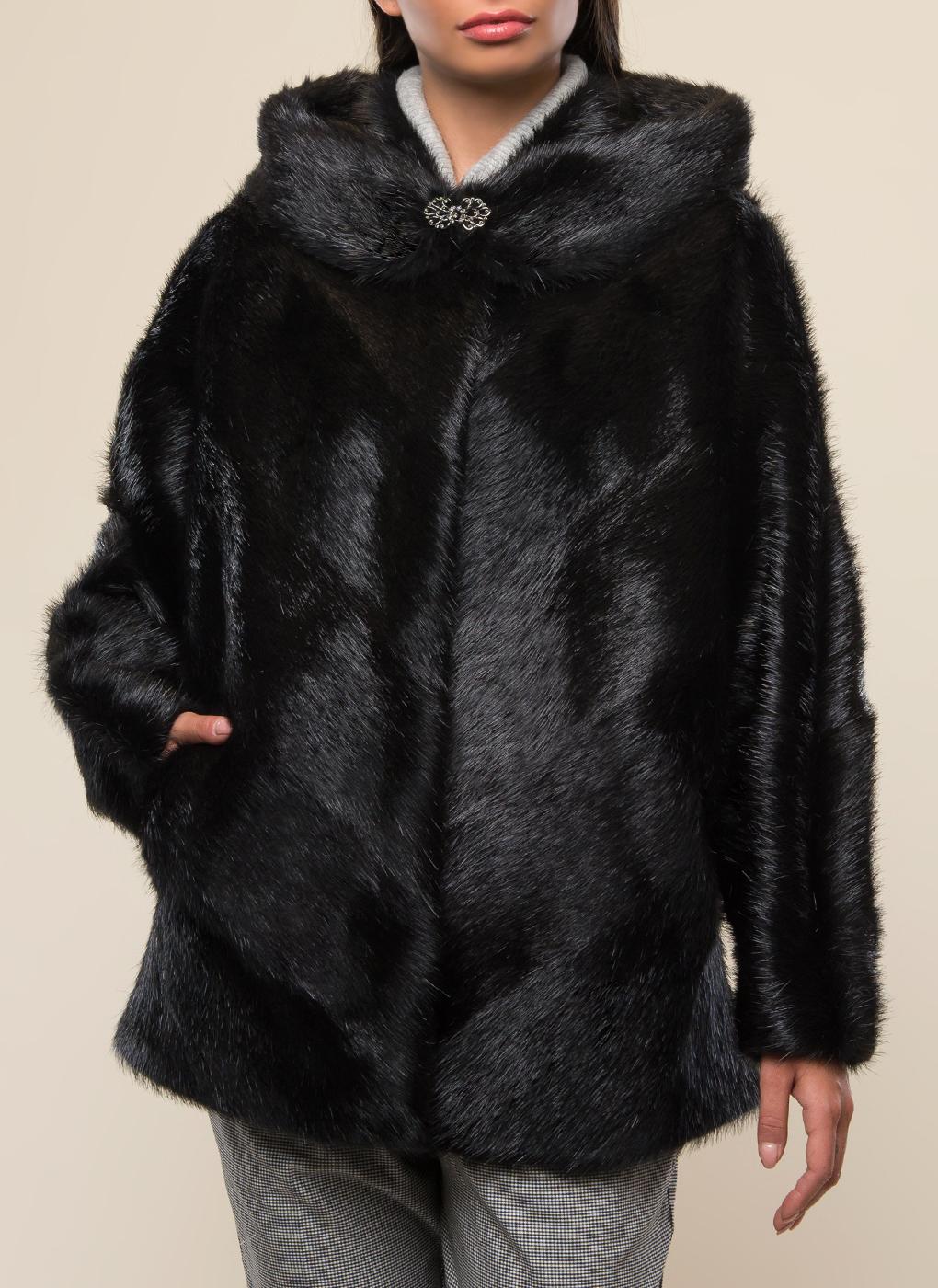 Куртка из нутрии Эрика 01, Дианель меховой дом