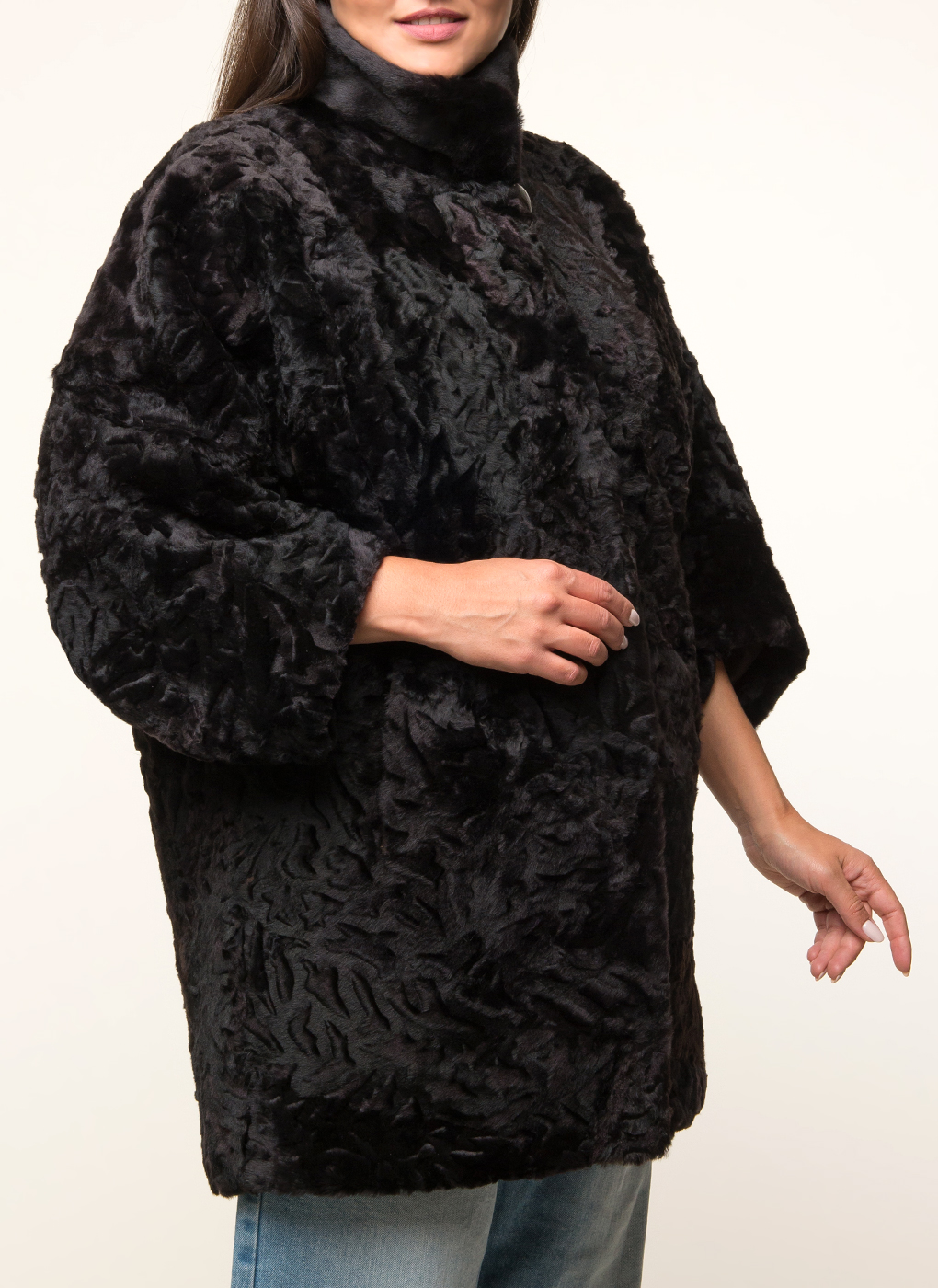 Пальто прямое из овчины 03, Janifer фото