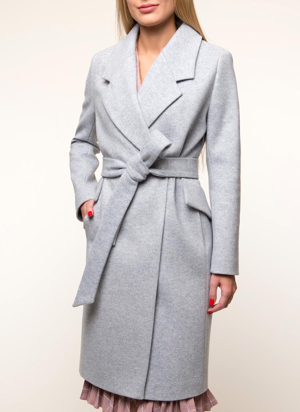 Пальто приталенное полушерстяное 11, Sezalto фото