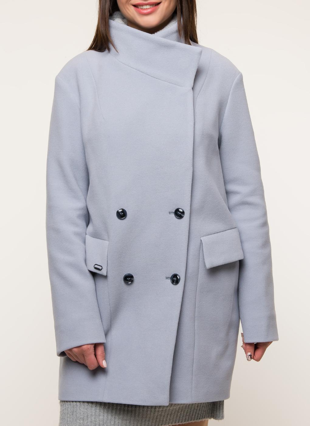 Пальто кокон полушерстяное 11, ElectraStyle фото