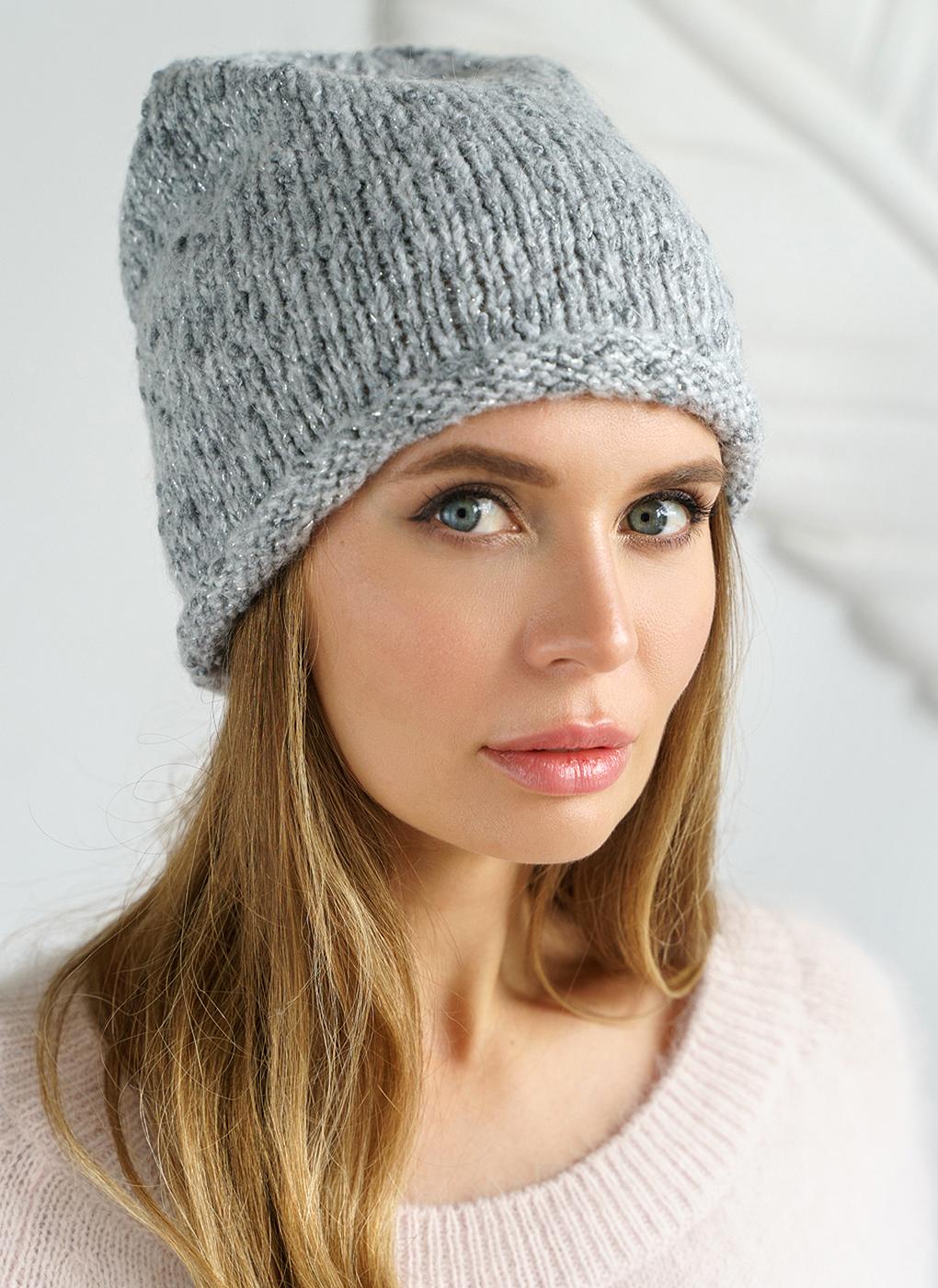 Вязаная шапка 08, Mira Adriana