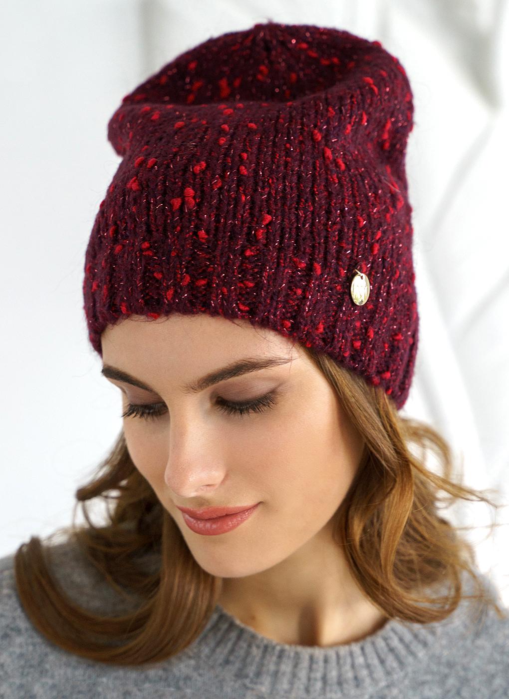 Вязаная шапка 09, Mira Adriana