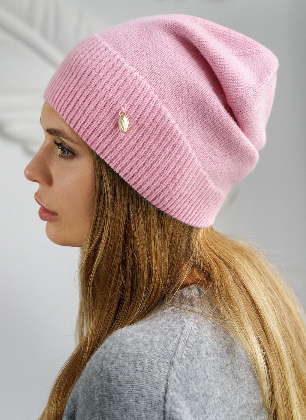 Вязаная шапка 03, Mira Adriana фото