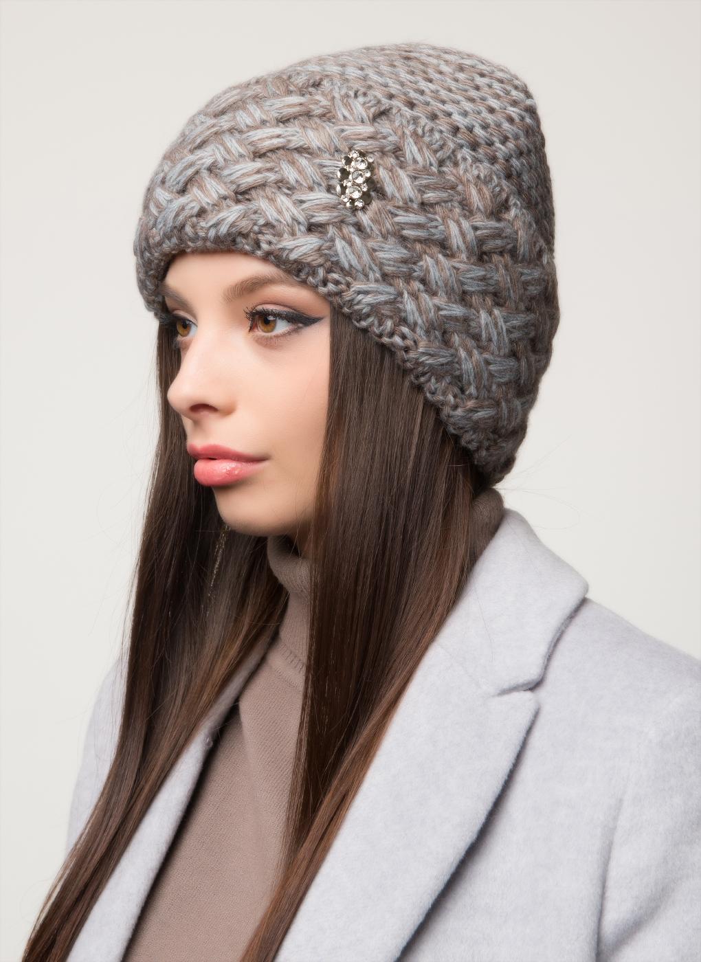 Вязаная шапка 25, Светлана фото