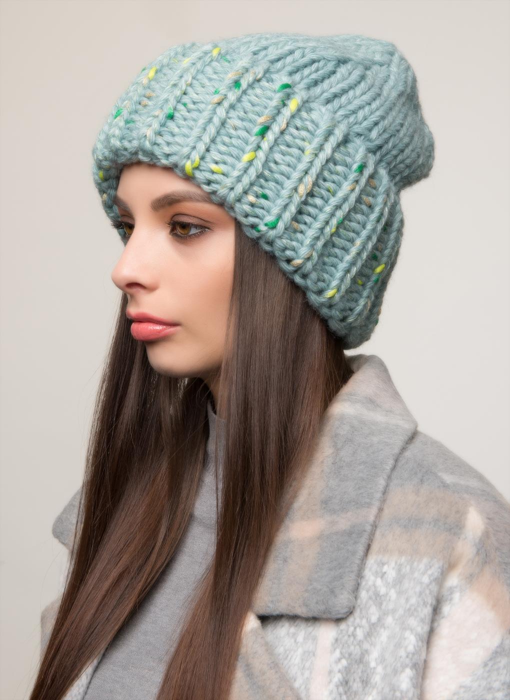 Вязаная шапка 23, Светлана фото
