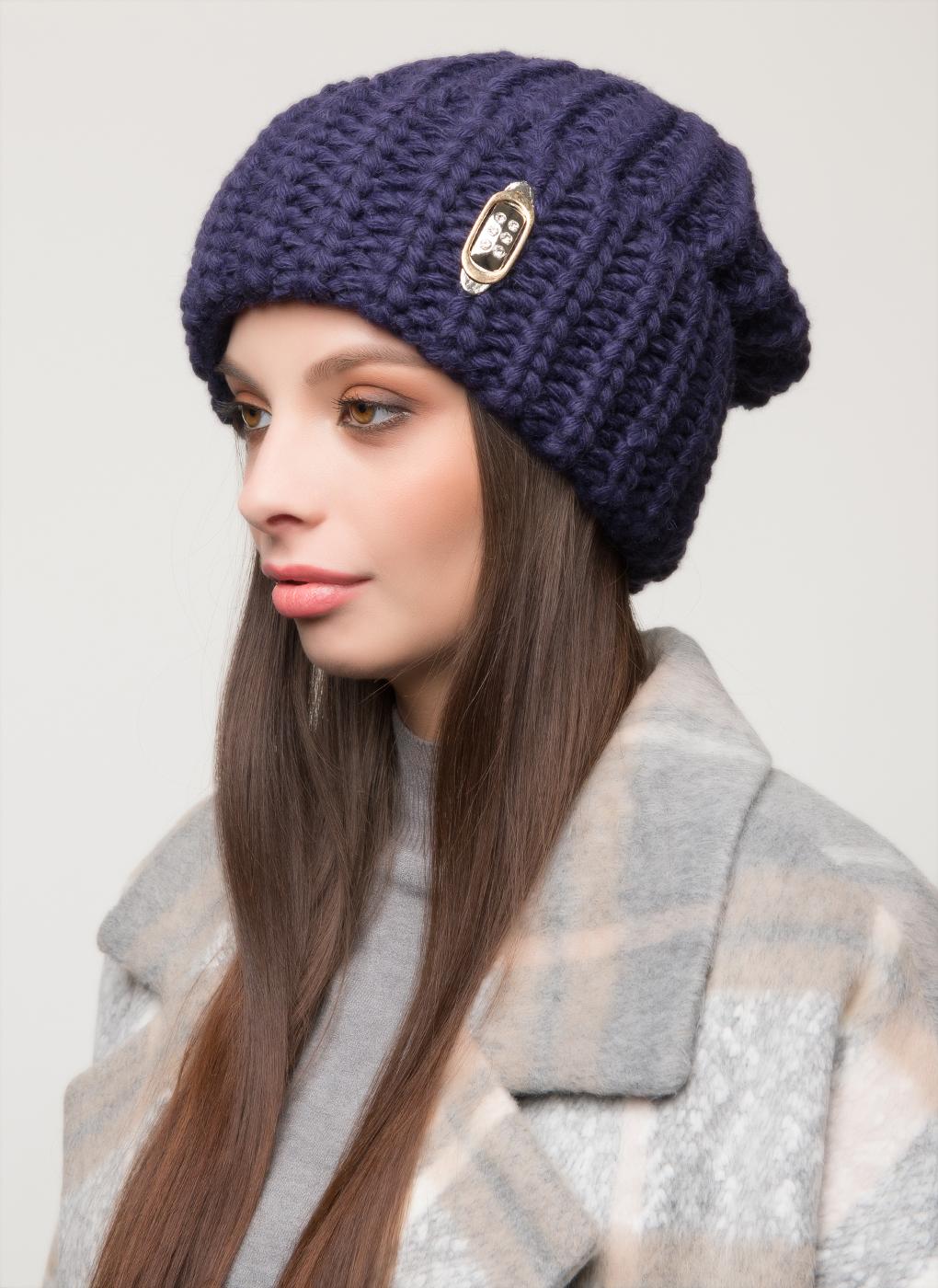 Вязаная шапка 16, Светлана фото